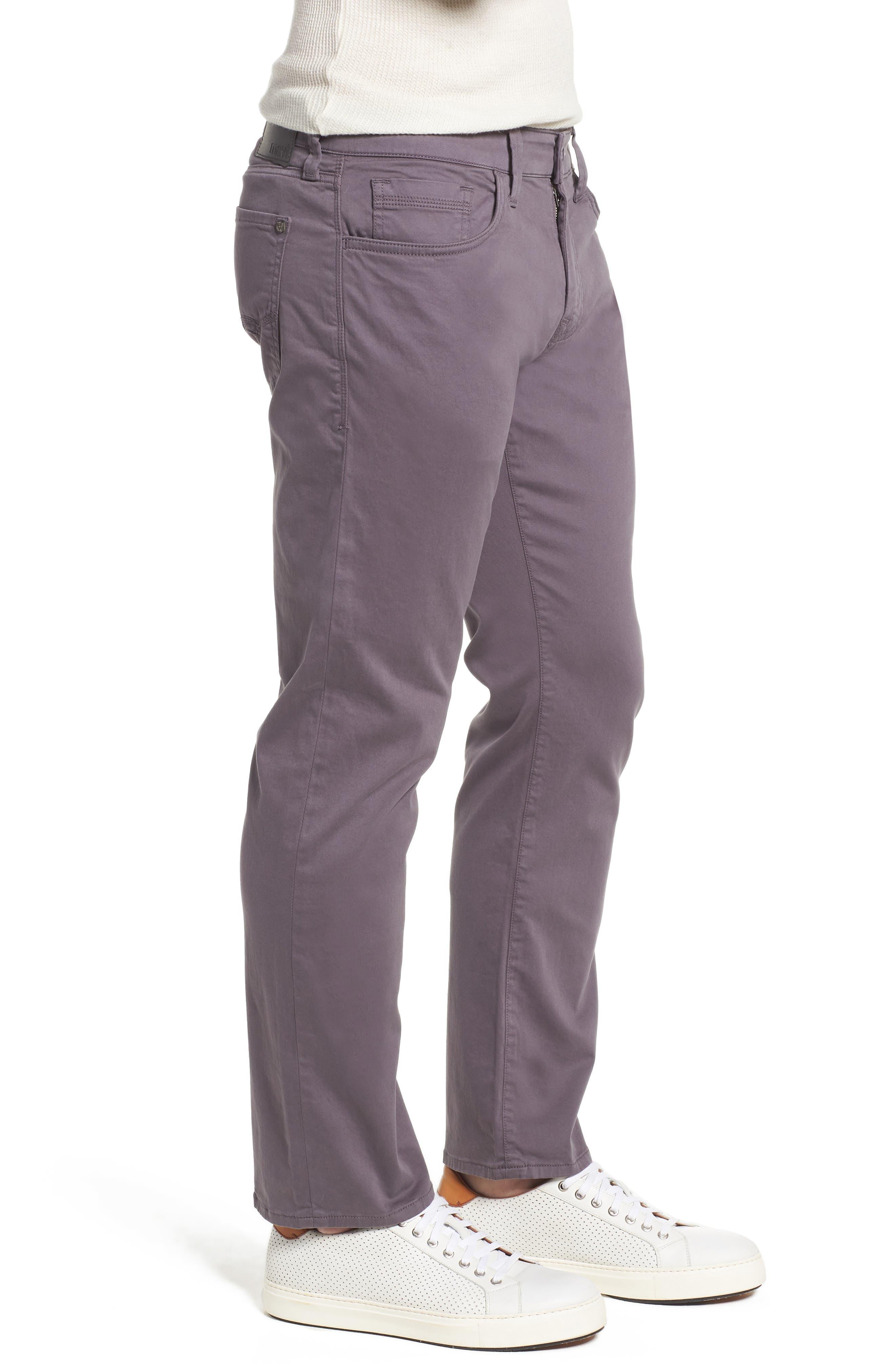 MAVI JEANS,                             Zach Straight Fit Twill Pants,                             Alternate thumbnail 3, color,                             050