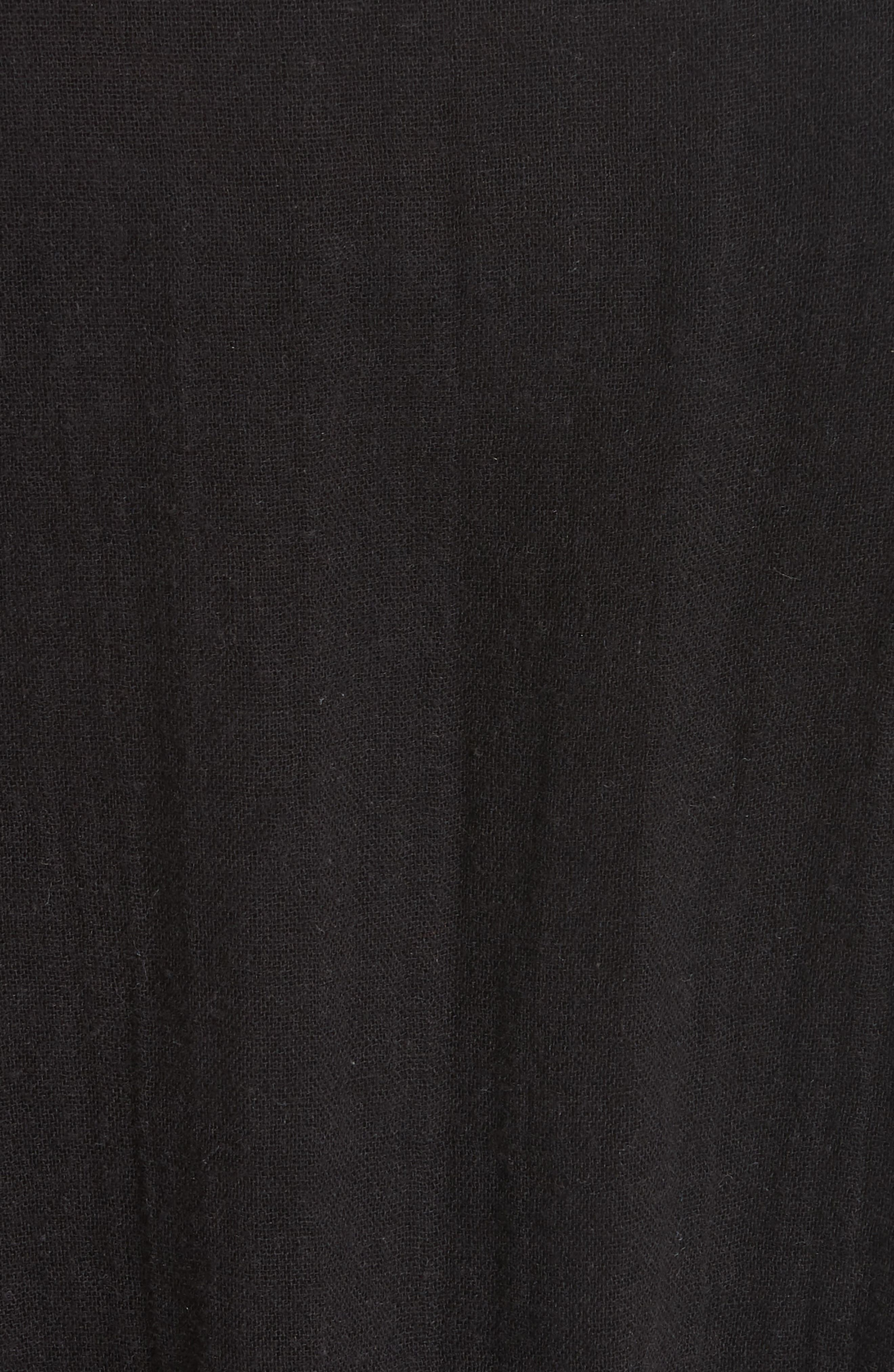 Petrushka Embroidered Jacket,                             Alternate thumbnail 7, color,                             BLACK