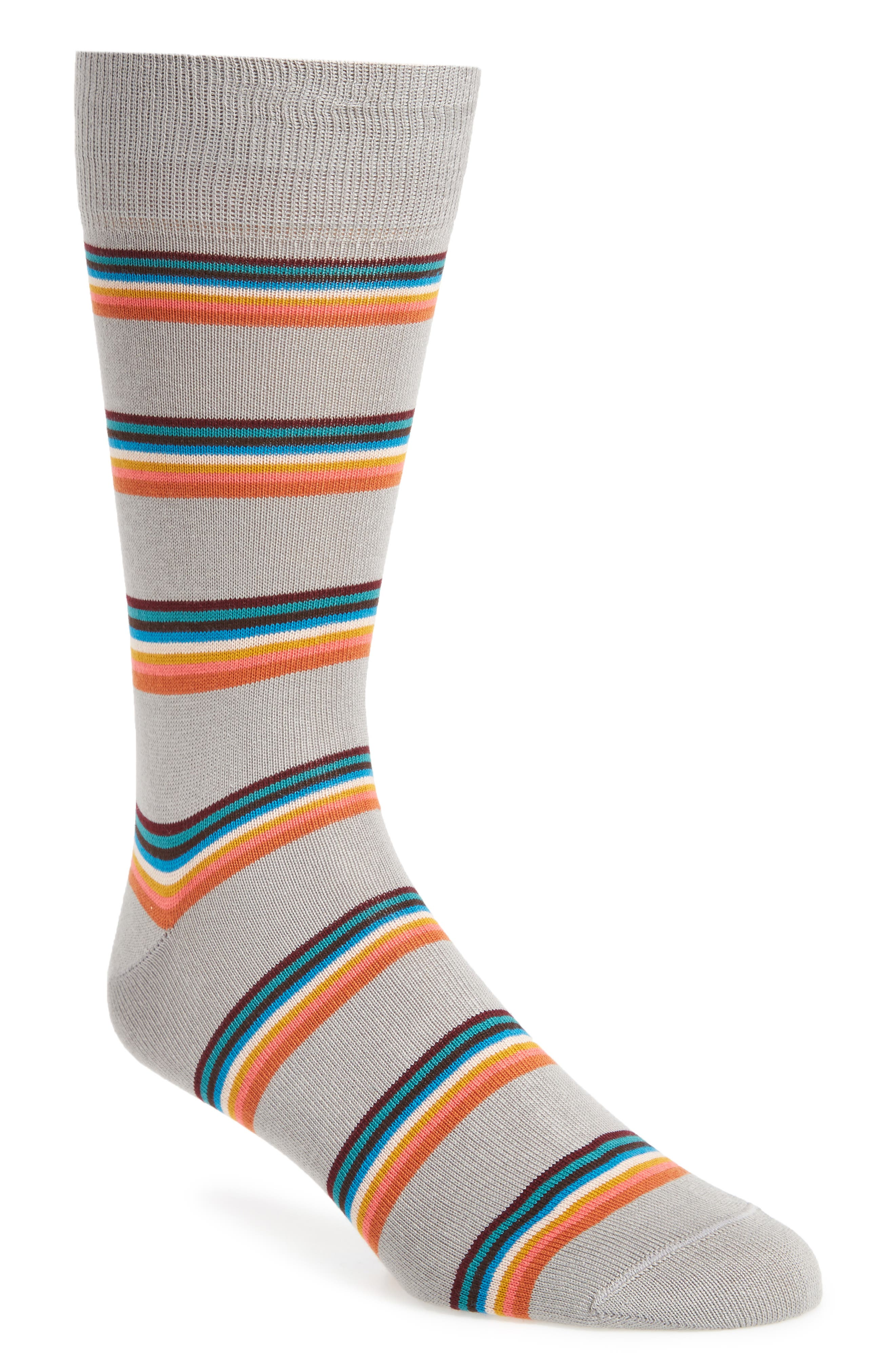 Stripe Socks,                         Main,                         color, 070