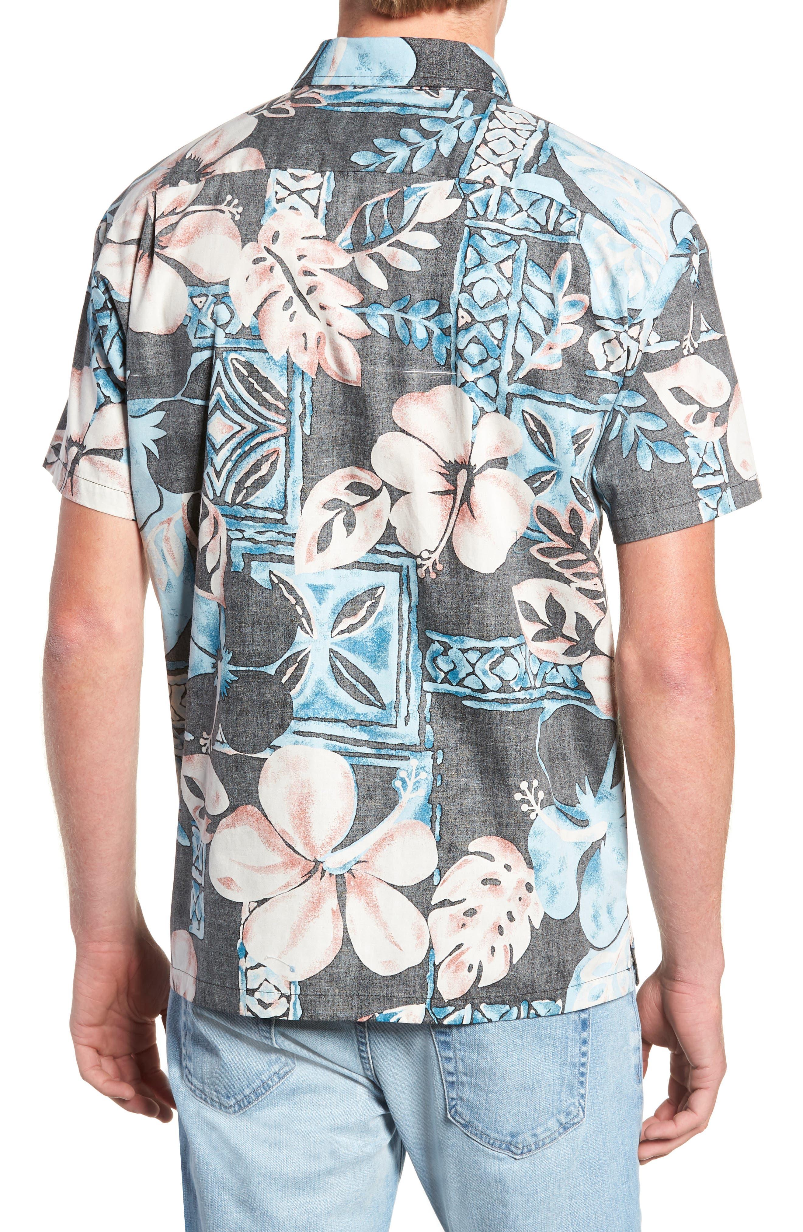 Ahiahi Classic Fit Sport Shirt,                             Alternate thumbnail 3, color,                             BLACK
