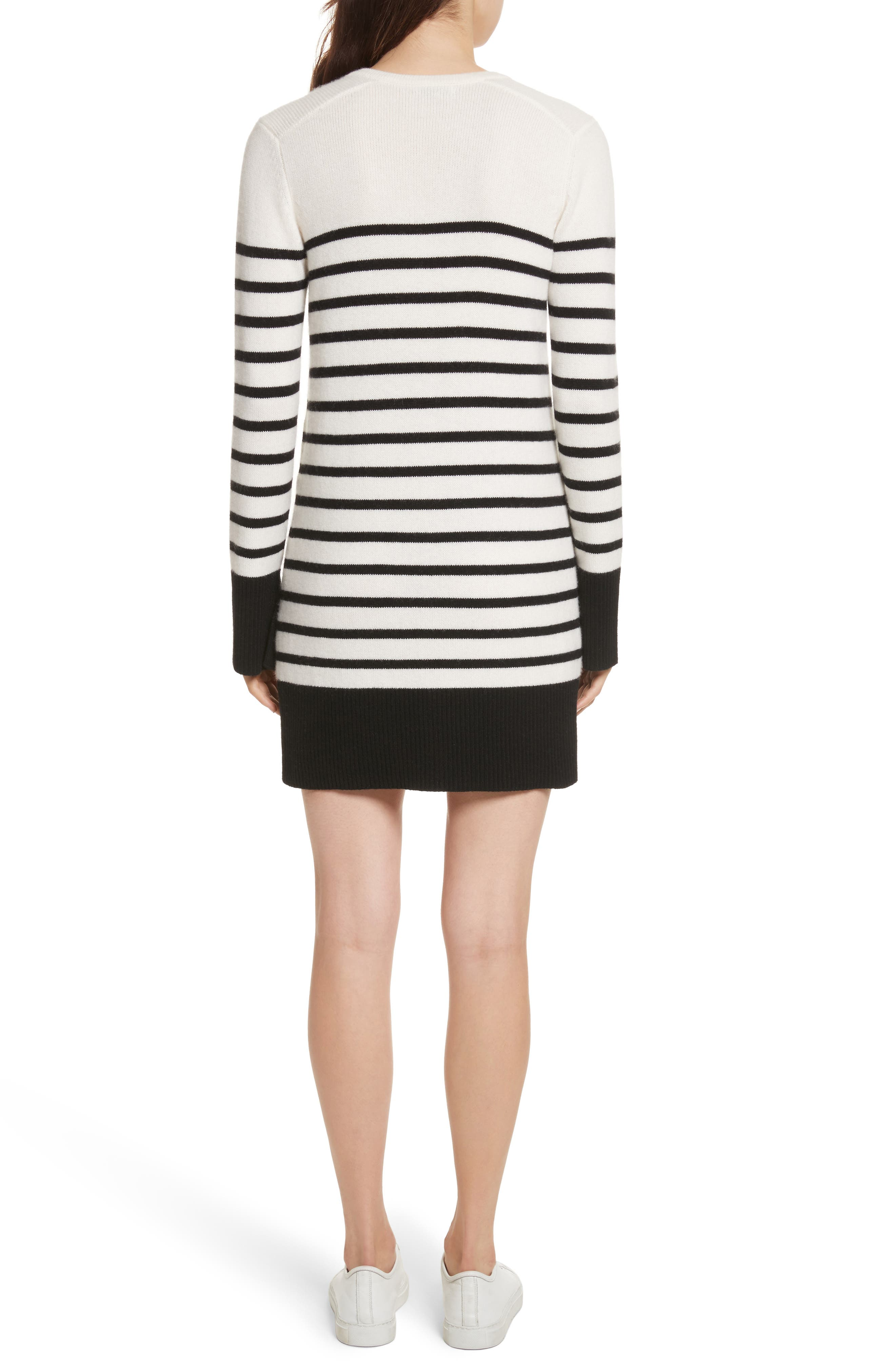 Heltan Wool & Cashmere Sweater Dress,                             Alternate thumbnail 2, color,                             123