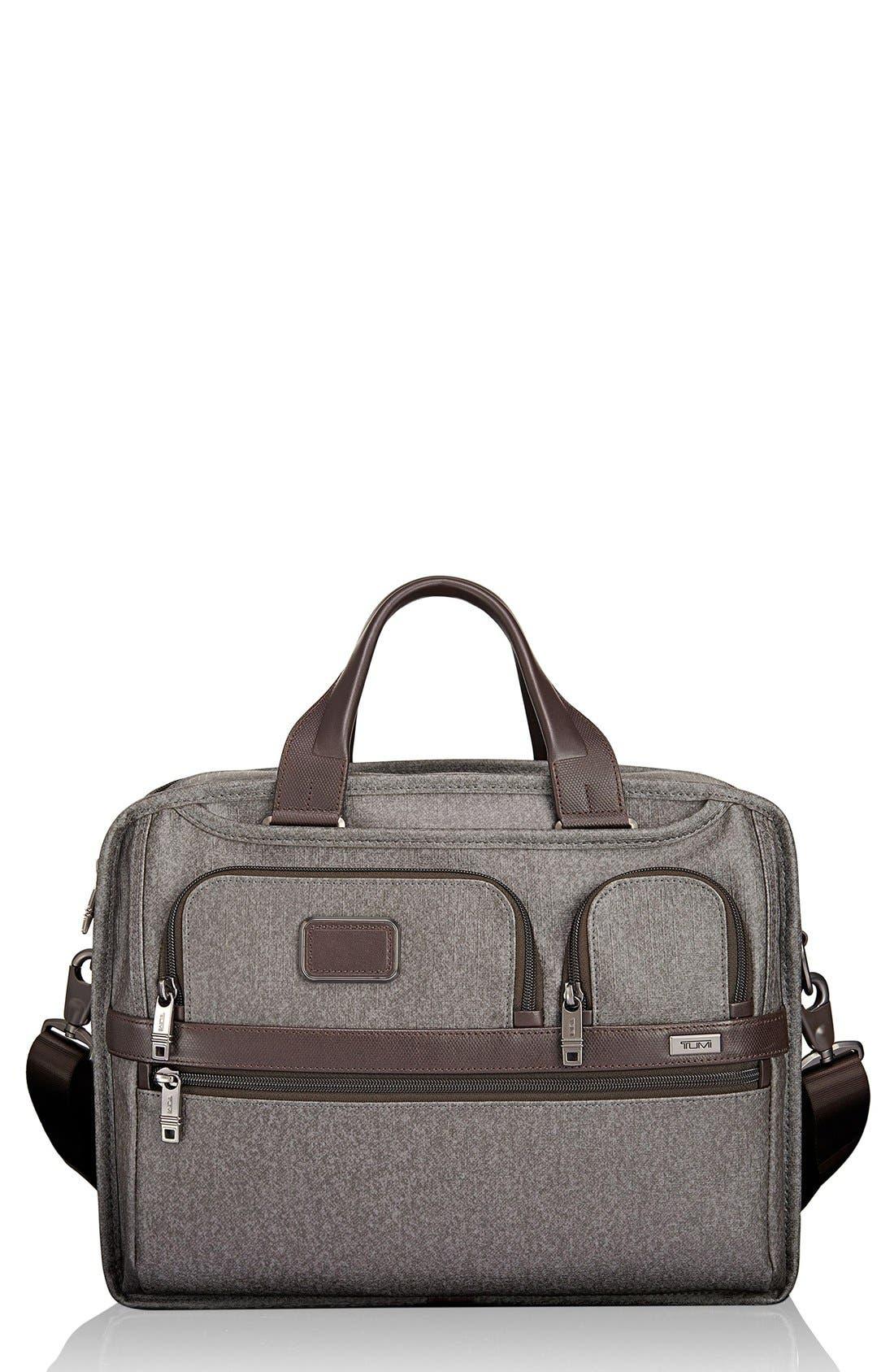 'Alpha 2' Expandable Briefcase,                         Main,                         color, 068