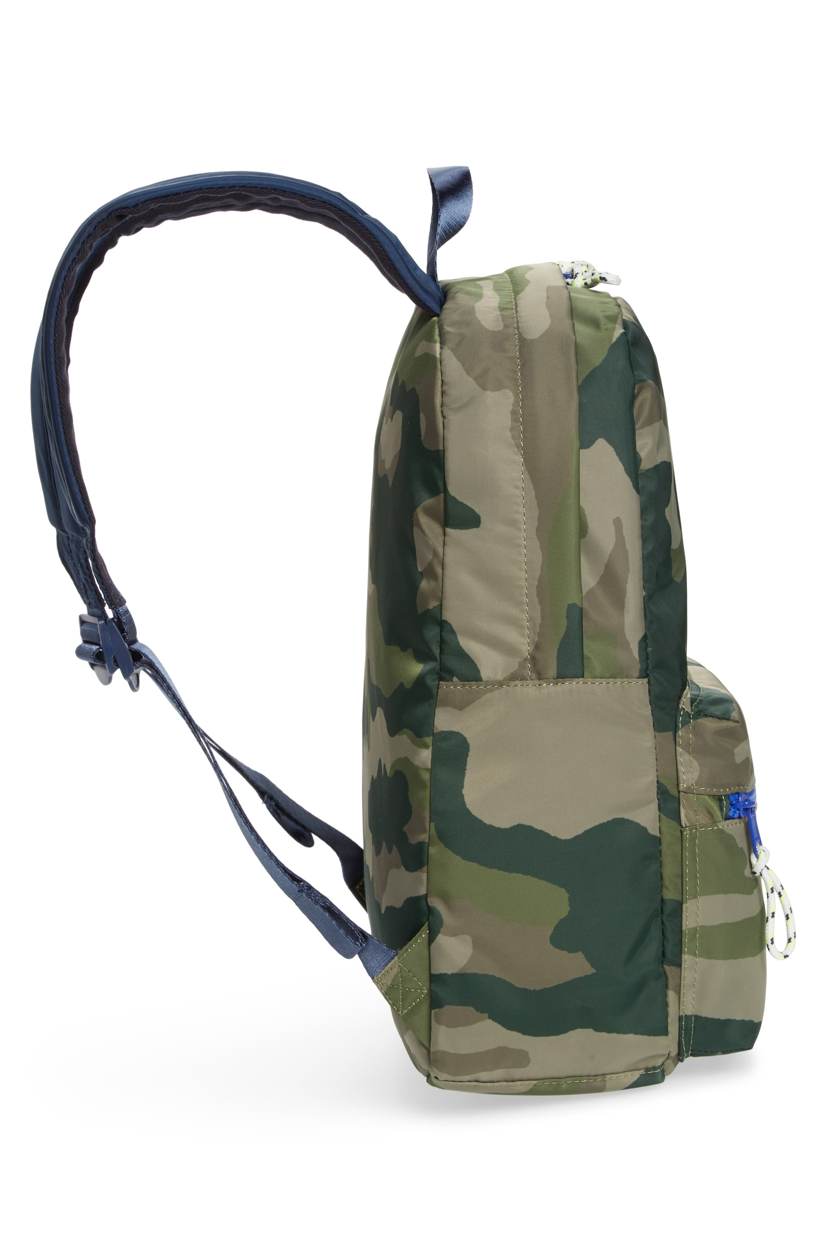 Camo Backpack,                             Alternate thumbnail 4, color,                             300