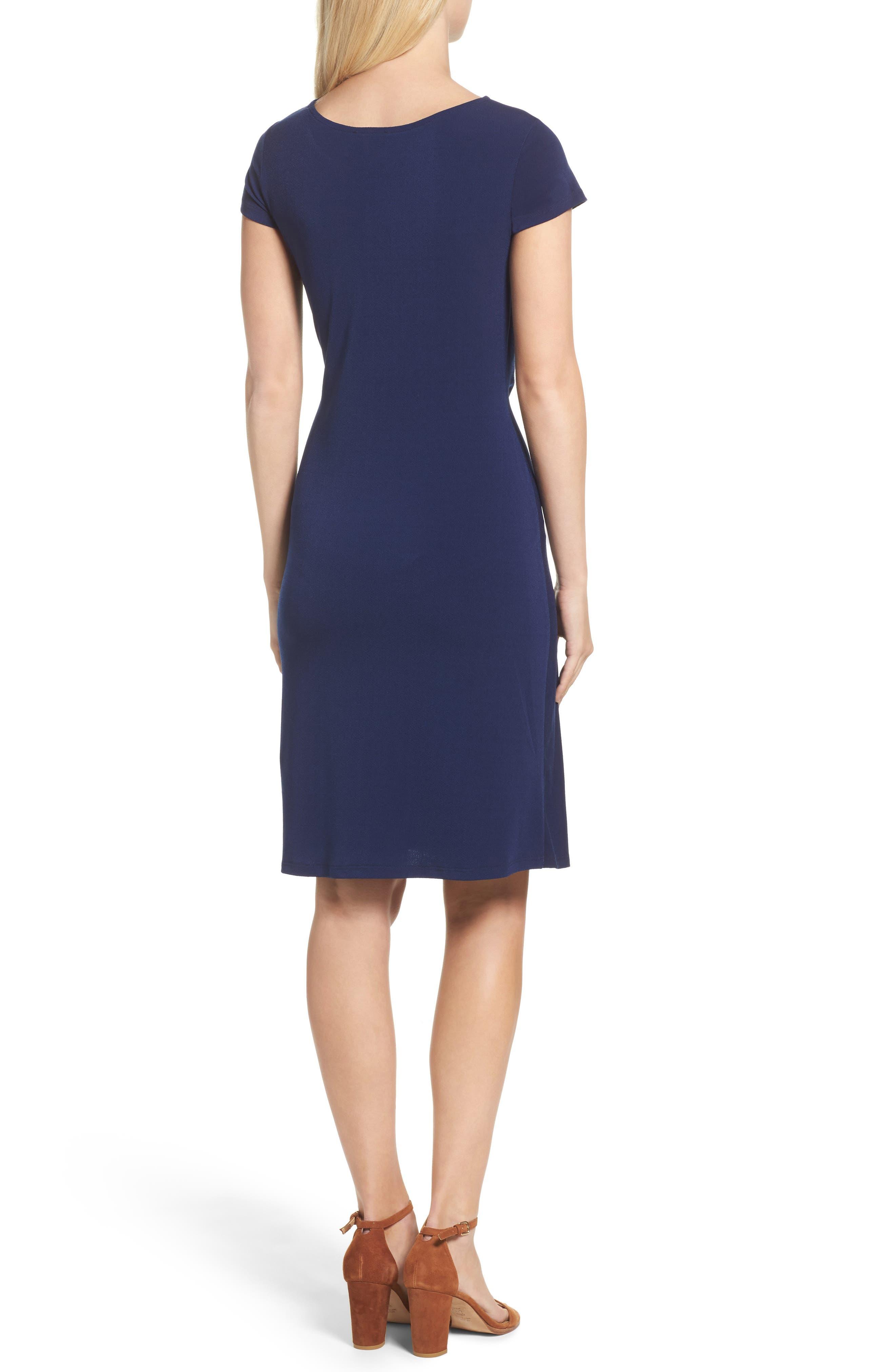 Madison Stretch Sheath Dress,                             Alternate thumbnail 6, color,