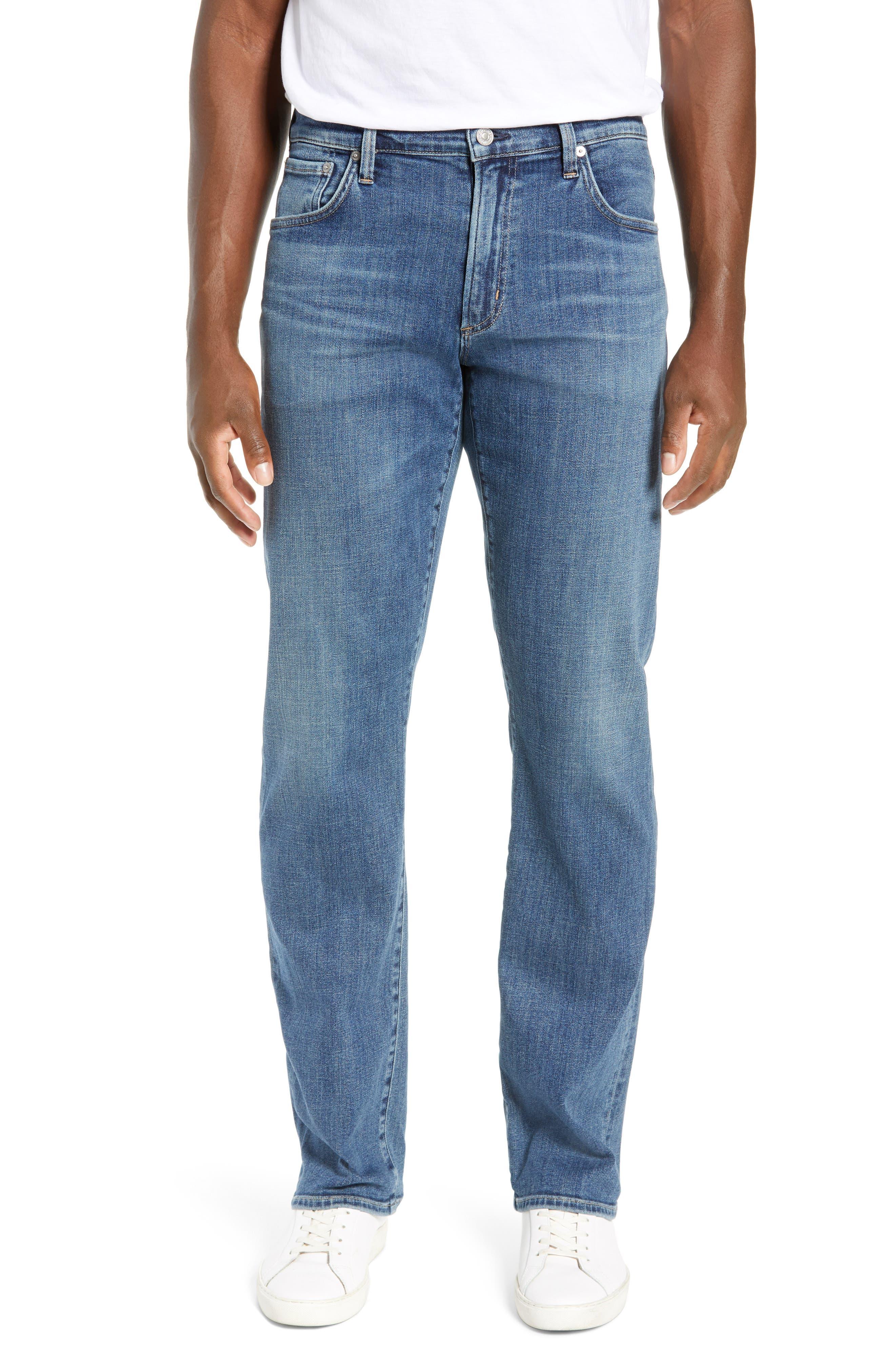 Sid Straight Leg Jeans,                         Main,                         color, AURORA