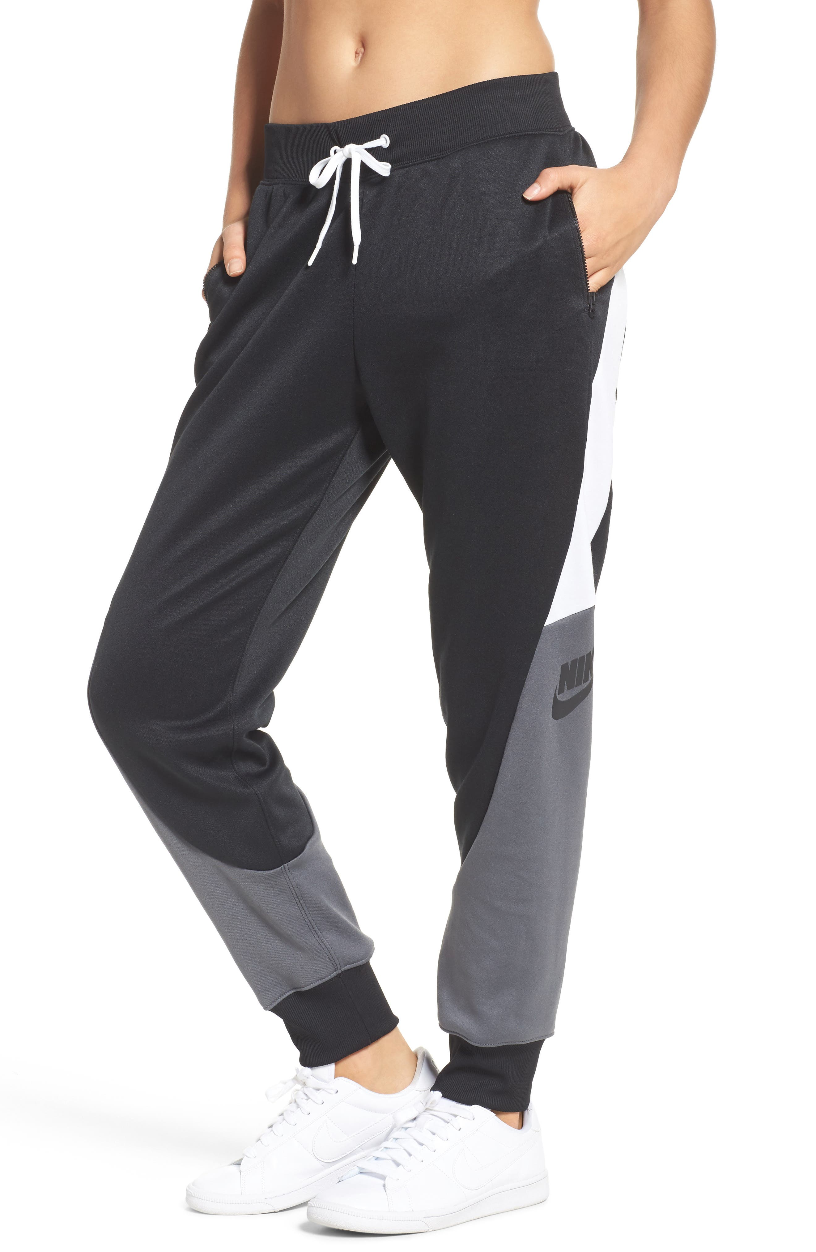 Colorblock Track Pants,                             Main thumbnail 1, color,                             010