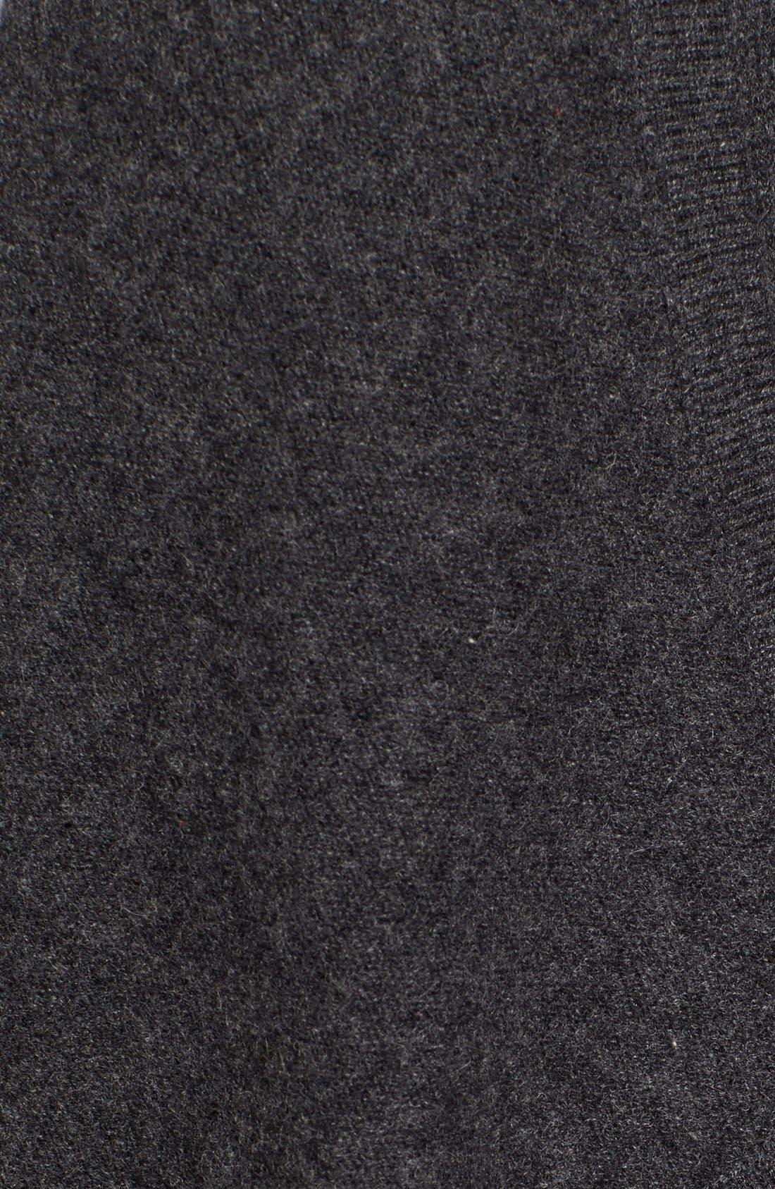 Cashmere Long Drape Front Cardigan,                             Alternate thumbnail 11, color,