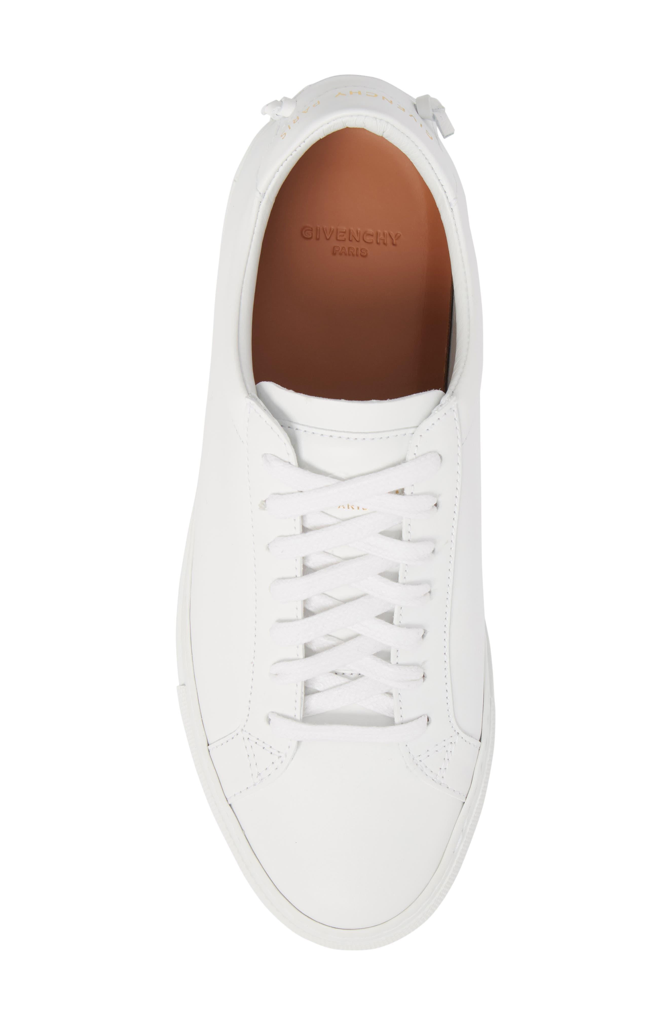 Low Top Sneaker,                             Alternate thumbnail 5, color,                             OPTIC WHITE