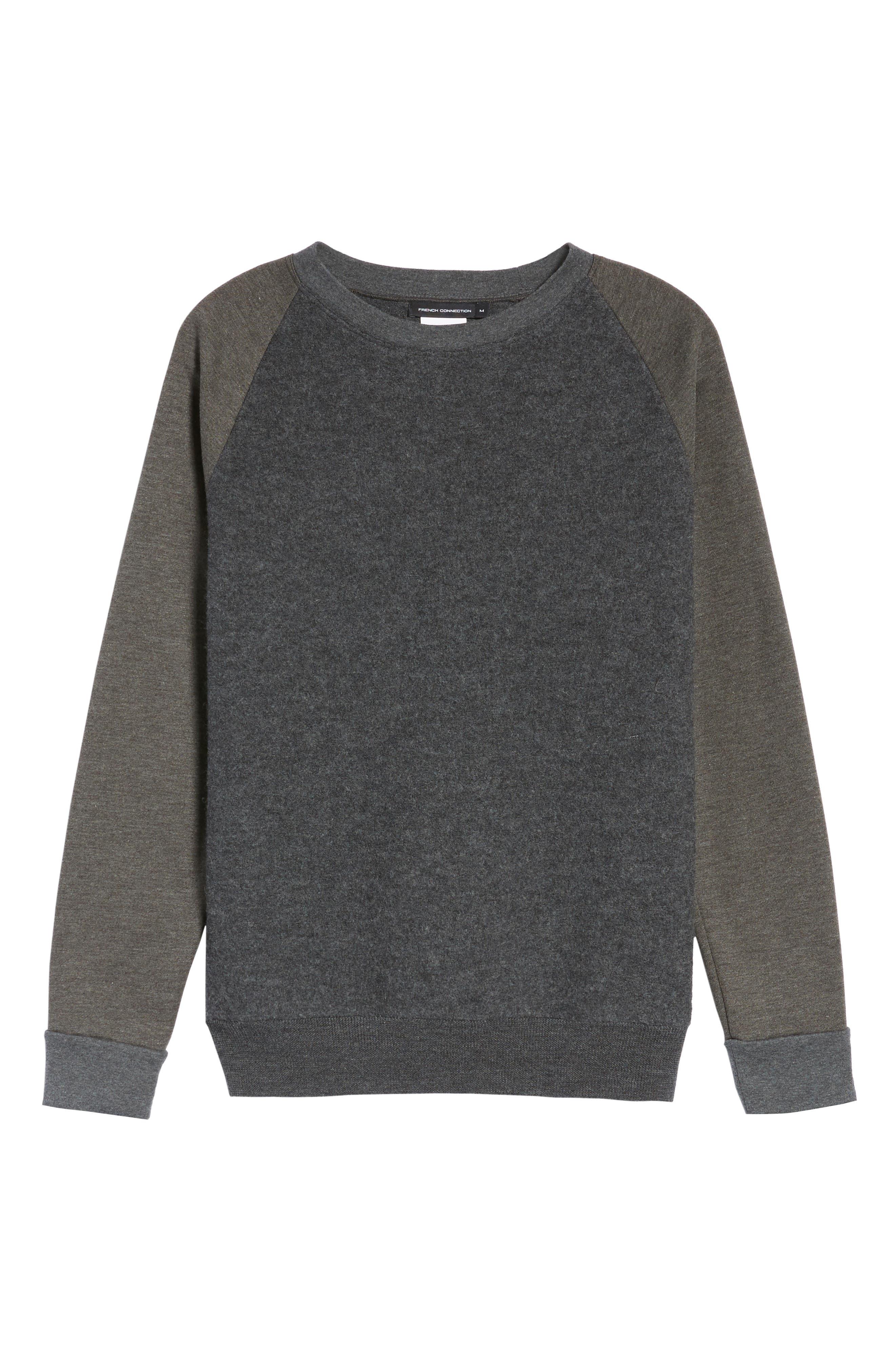 Crewneck Sweater,                             Alternate thumbnail 6, color,