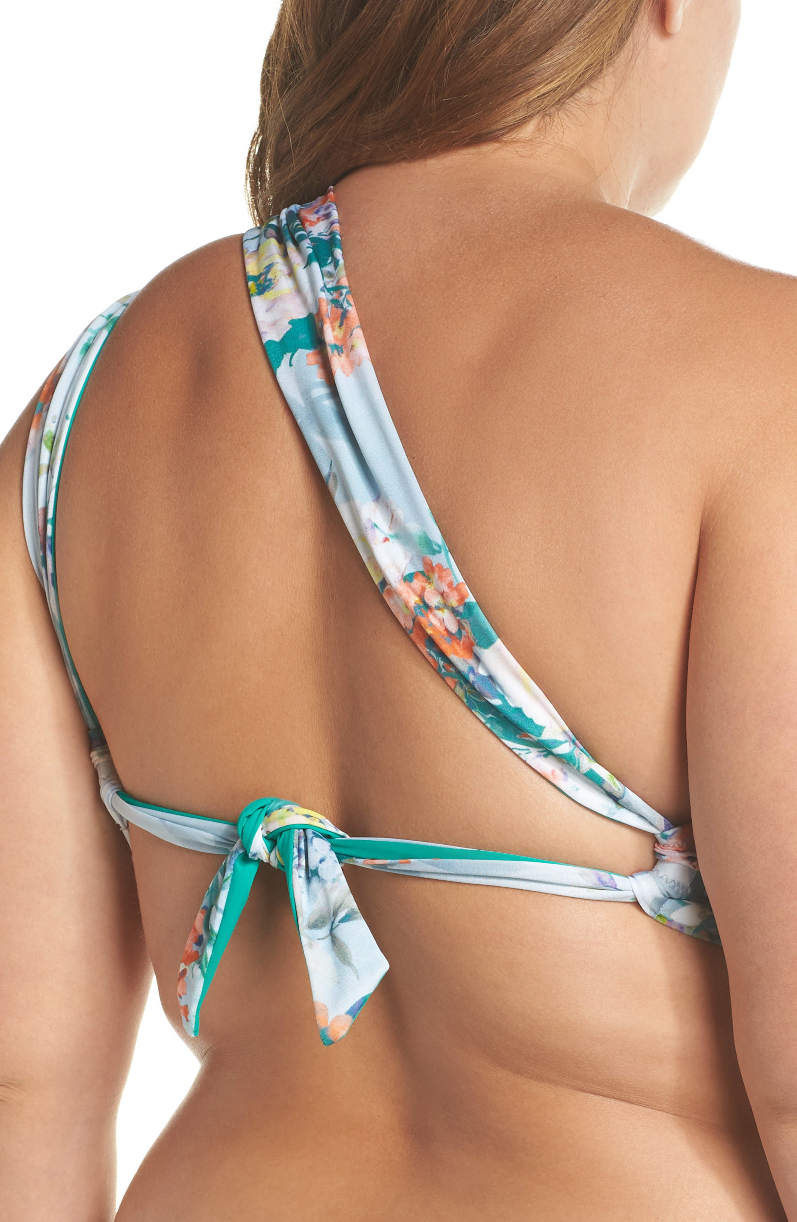 BECCA ETC.,                             Femme Flora Bikini Top,                             Alternate thumbnail 2, color,                             400