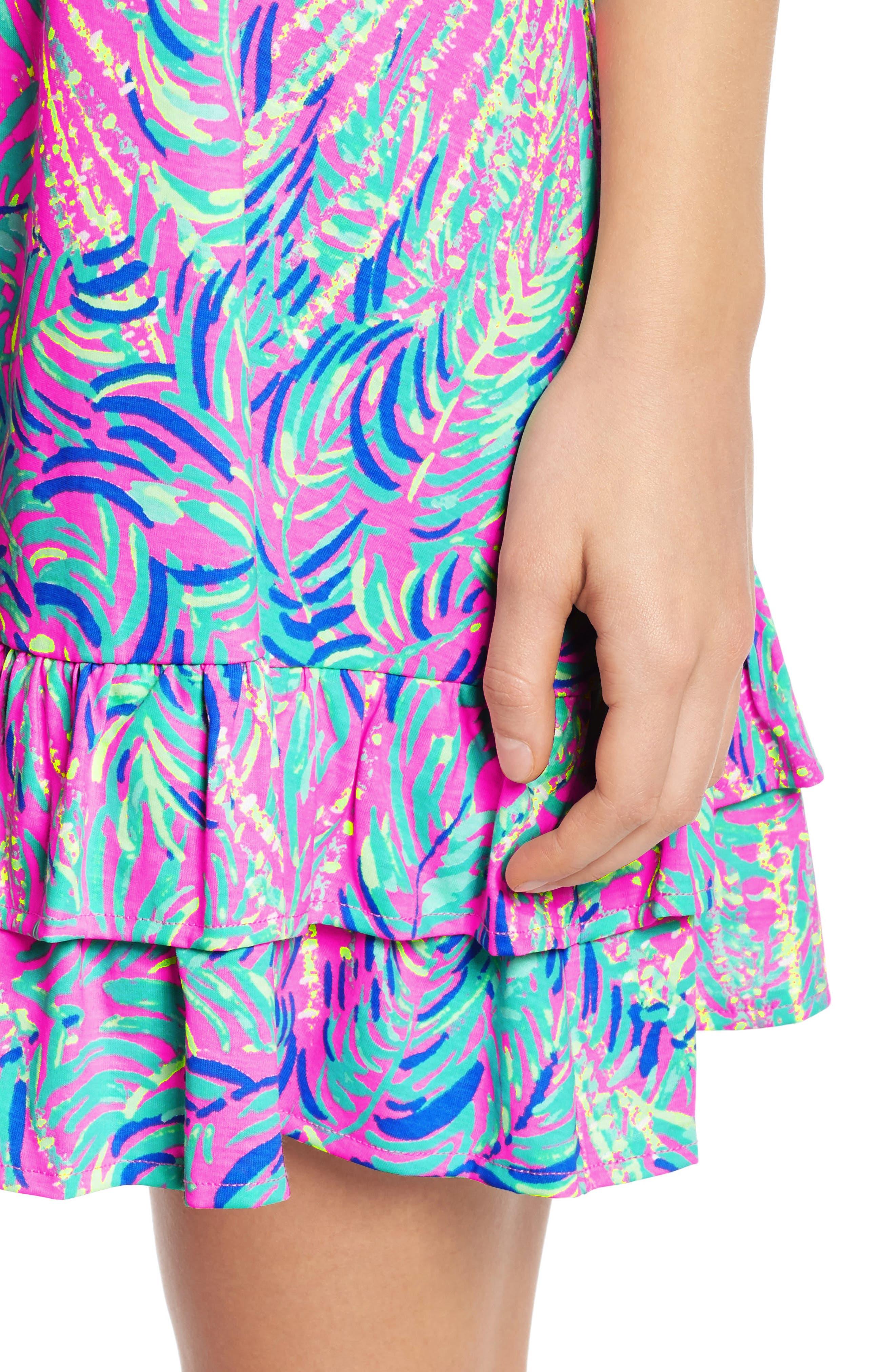 Evangelia Sleeveless Racerback Dress,                             Alternate thumbnail 4, color,                             650