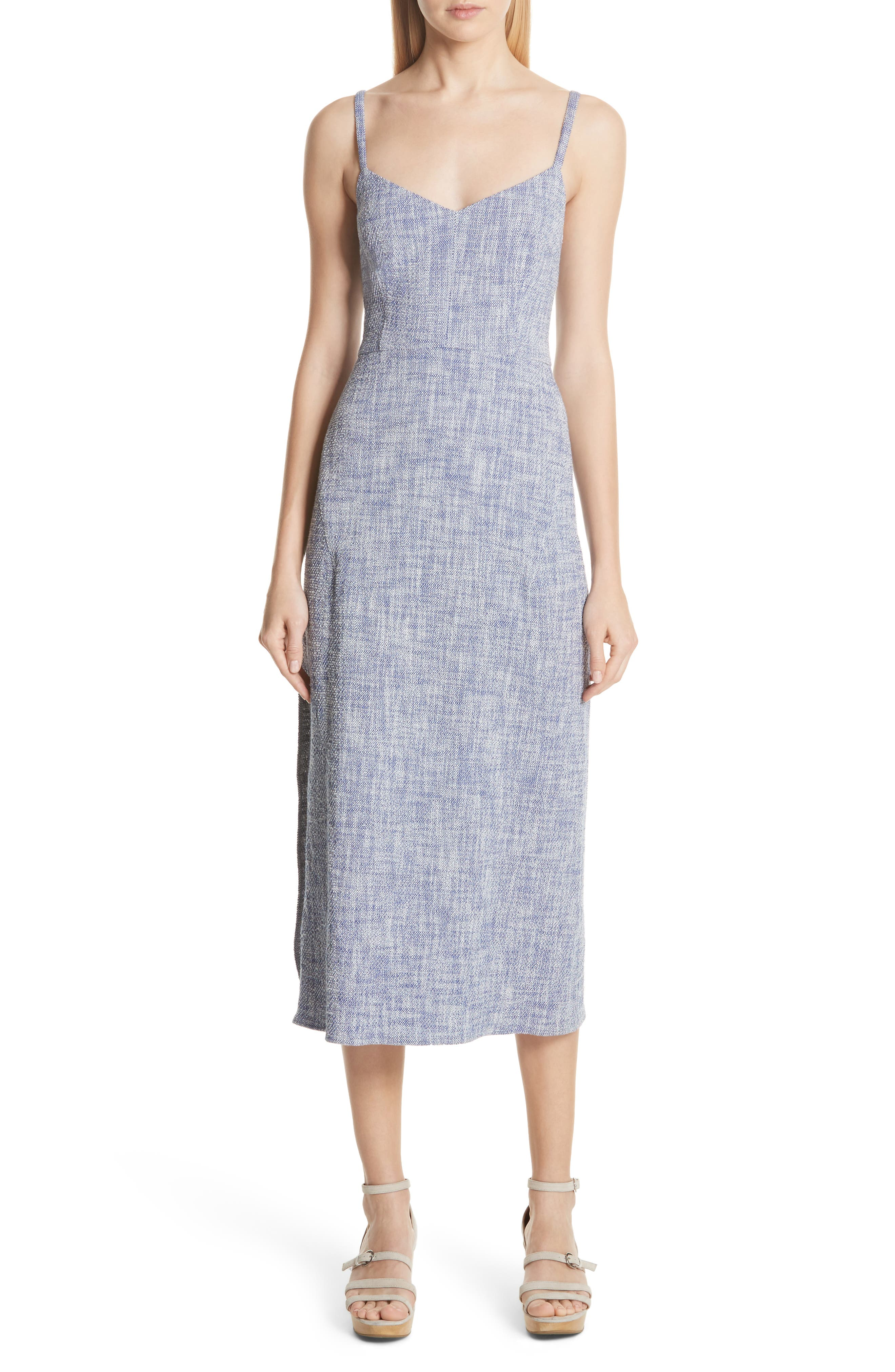 Agitator Midi Dress,                         Main,                         color, BLUE