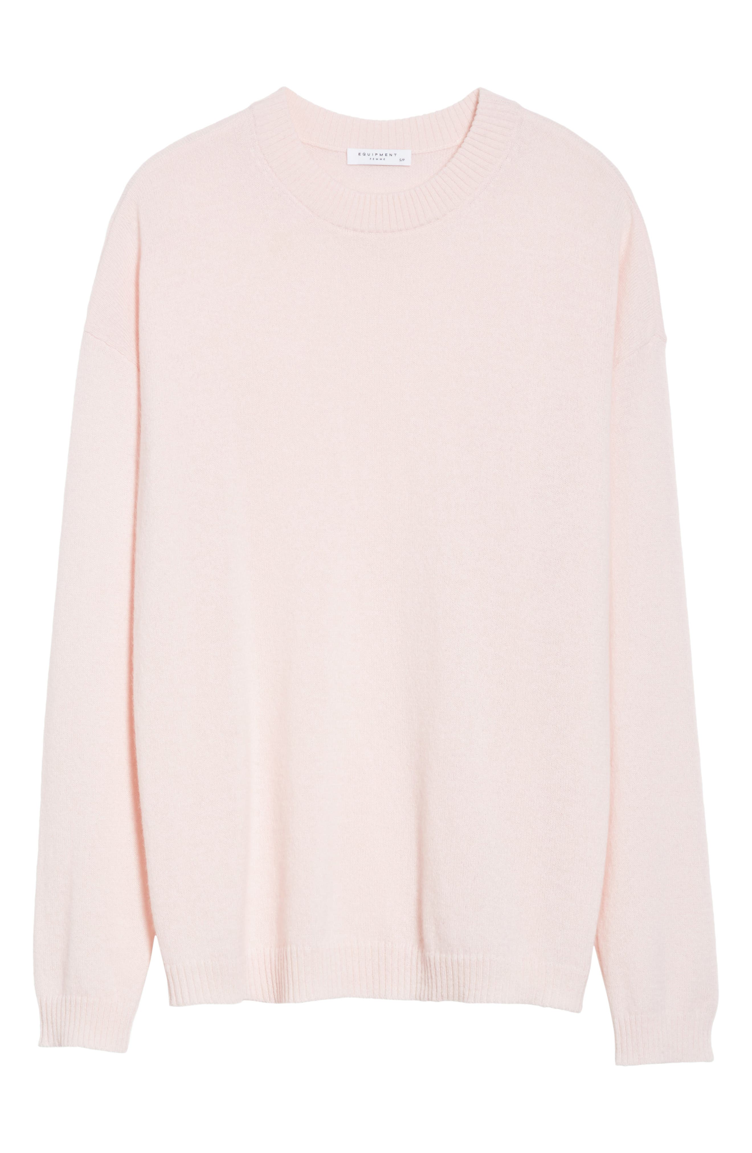 Bryce Oversize Cashmere Sweater,                             Alternate thumbnail 6, color,                             650