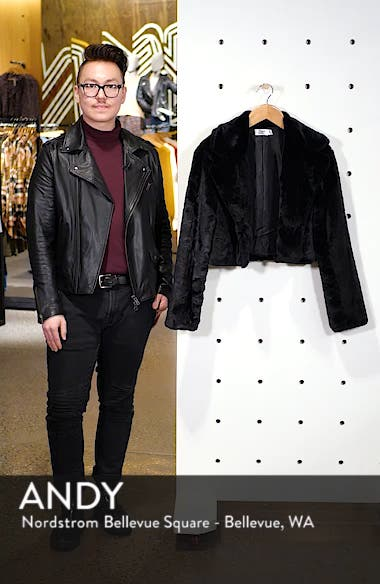 Mimi Faux Fur Jacket, sales video thumbnail
