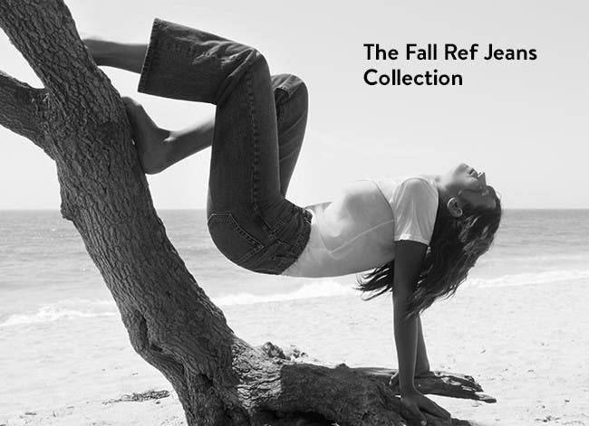 The fall Ref jeans collection: Reformation denim.