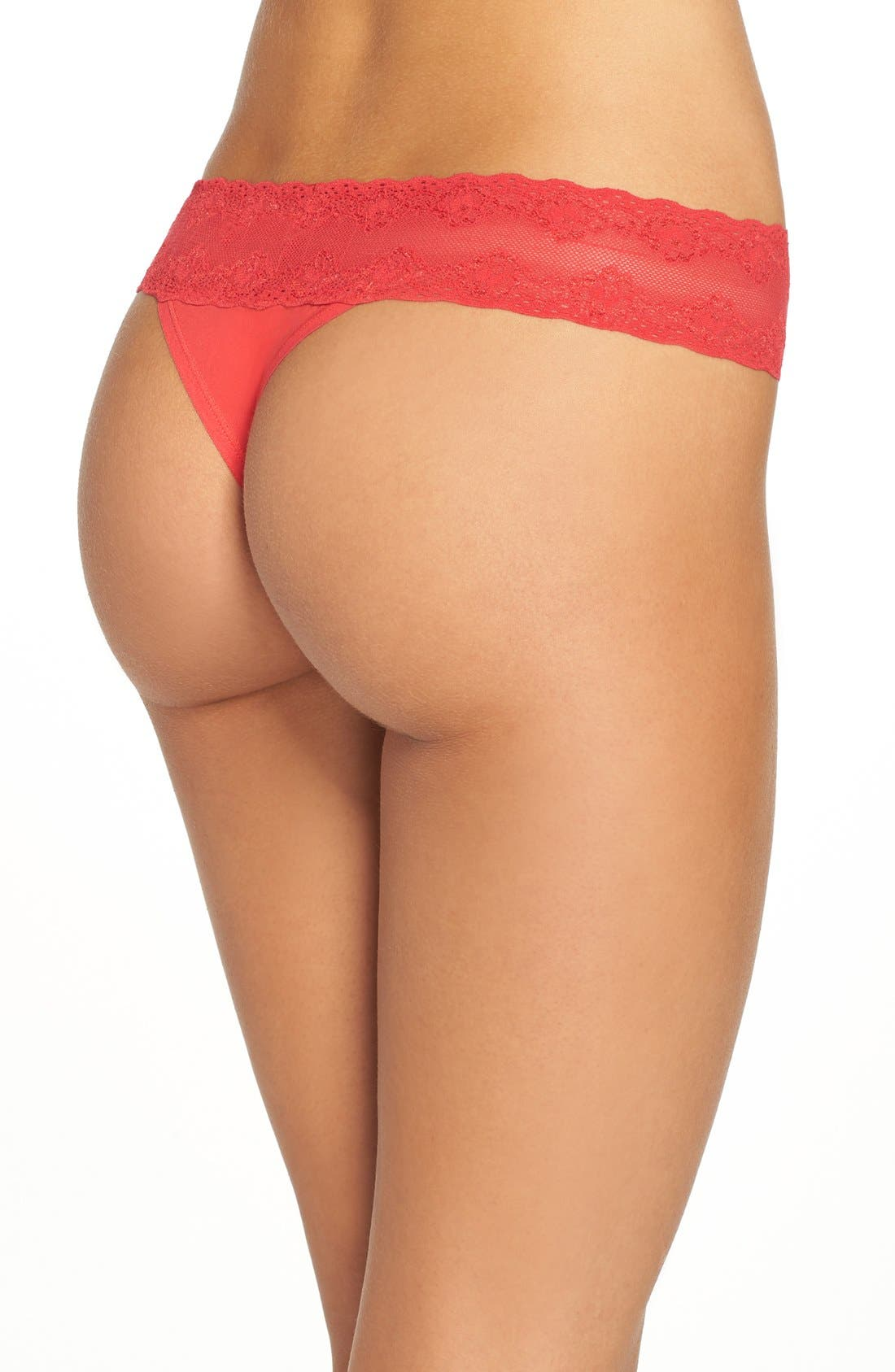Bliss Perfection Thong,                             Alternate thumbnail 369, color,