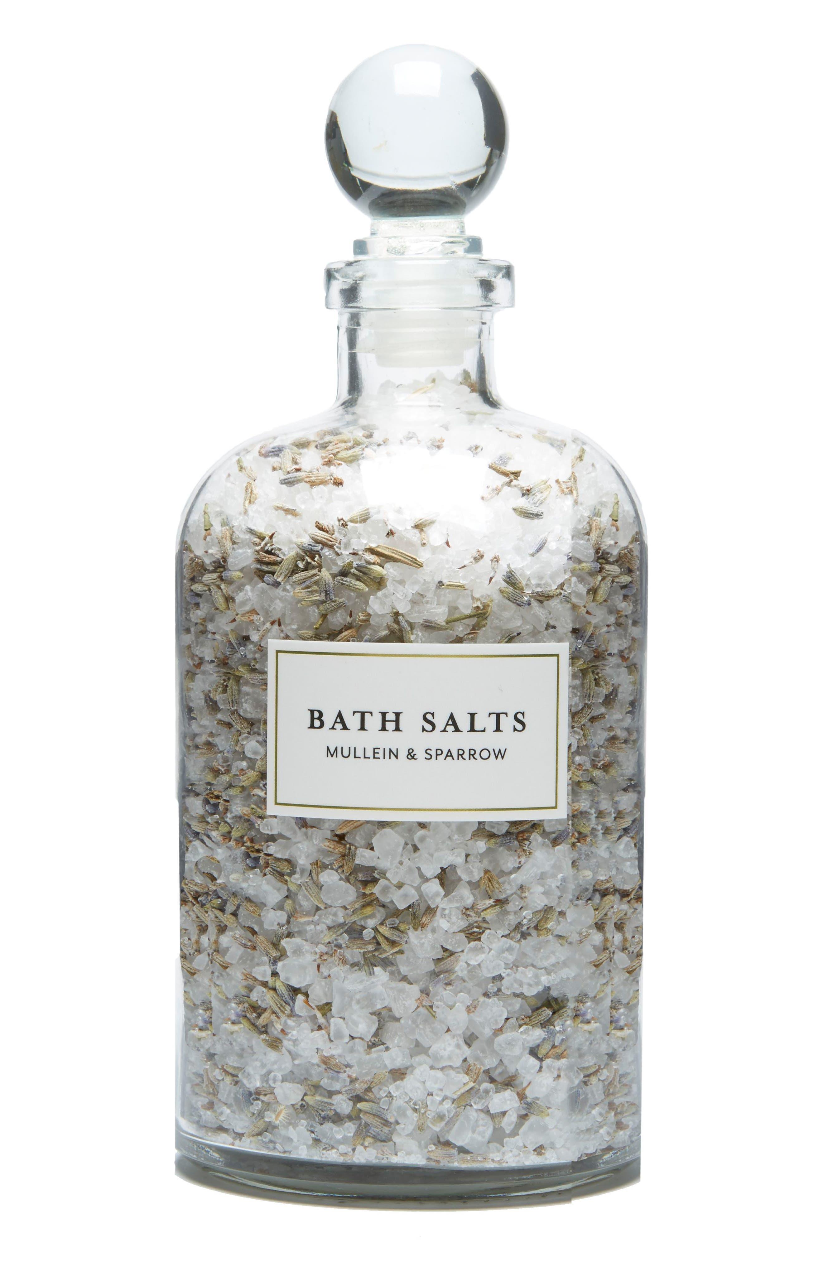 MULLEIN & SPARROW Bath Salts, Main, color, 100