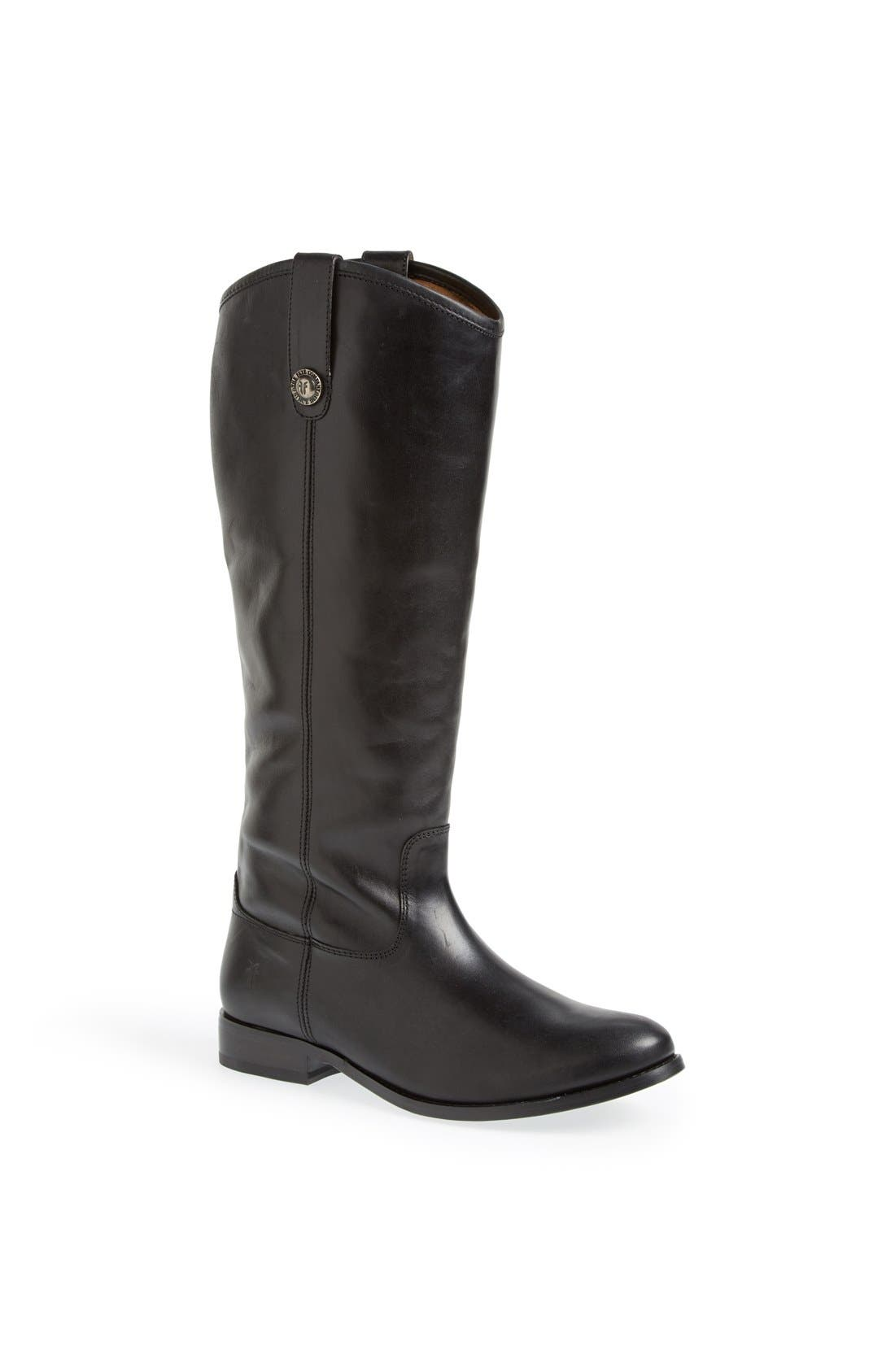 'Melissa Button' Leather Riding Boot,                             Main thumbnail 5, color,