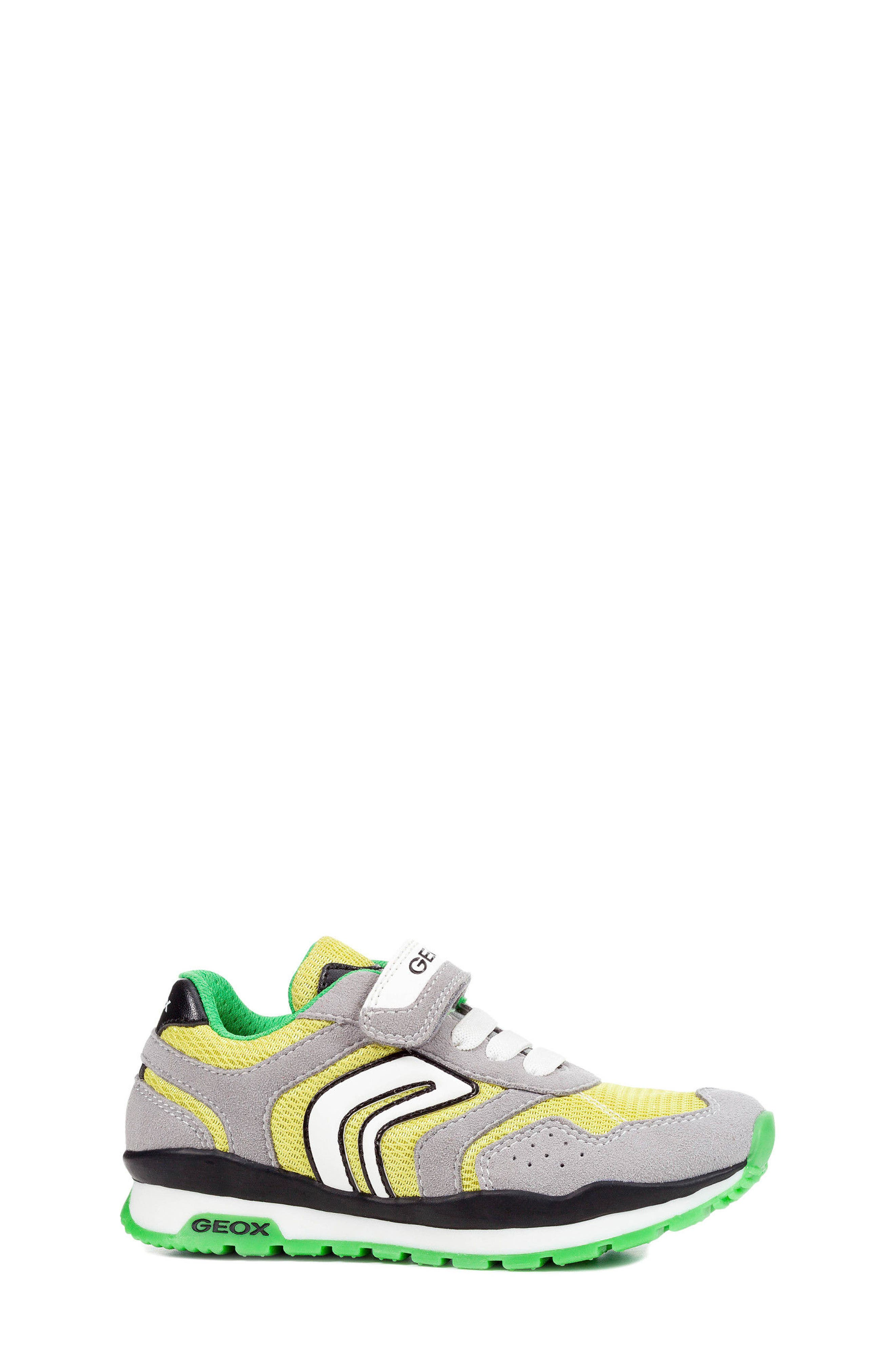 Pavel Low Top Sneaker,                             Alternate thumbnail 3, color,                             GREY/ LIME