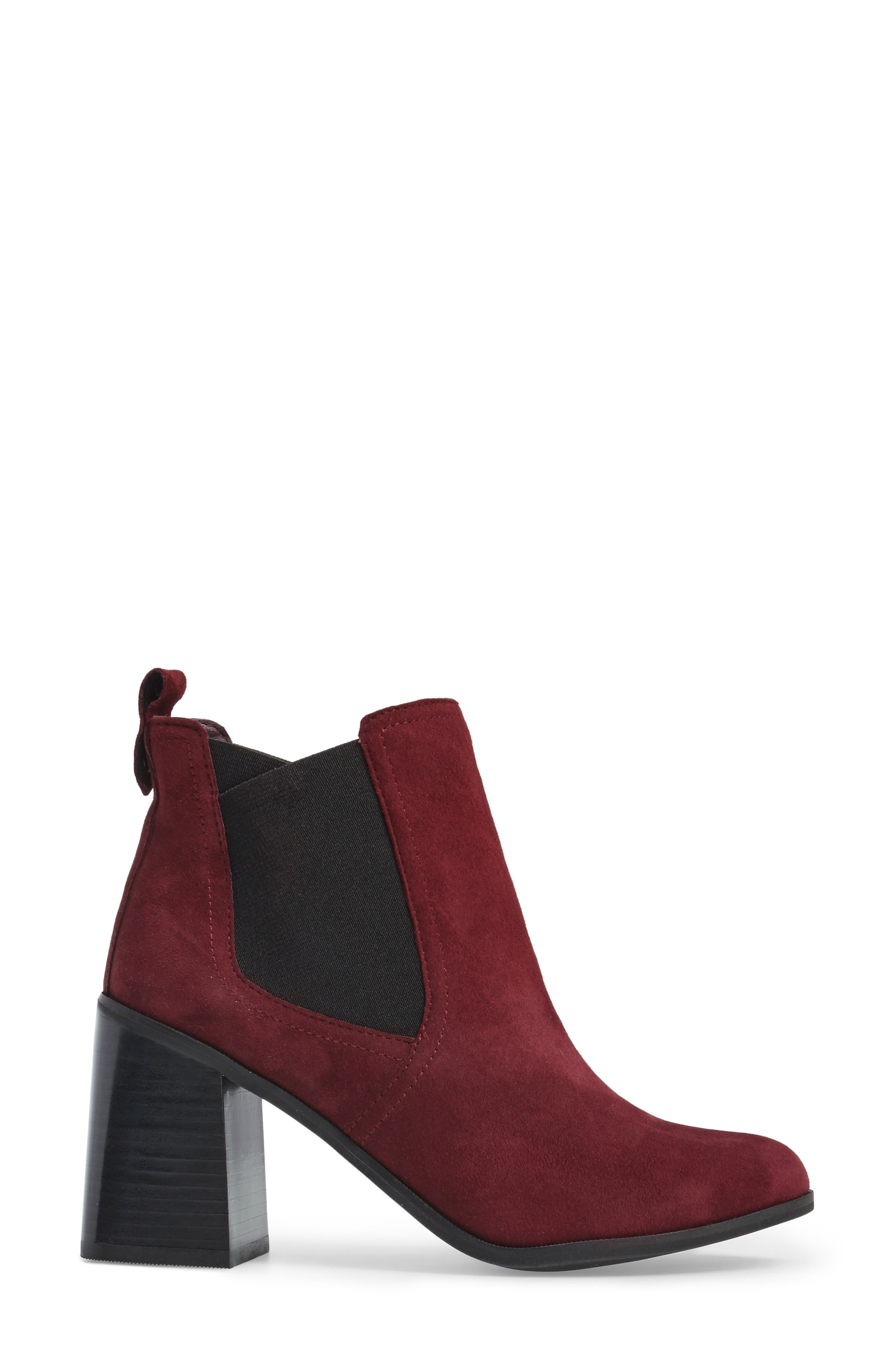 Quinn Flared Heel Chelsea Bootie,                             Alternate thumbnail 15, color,