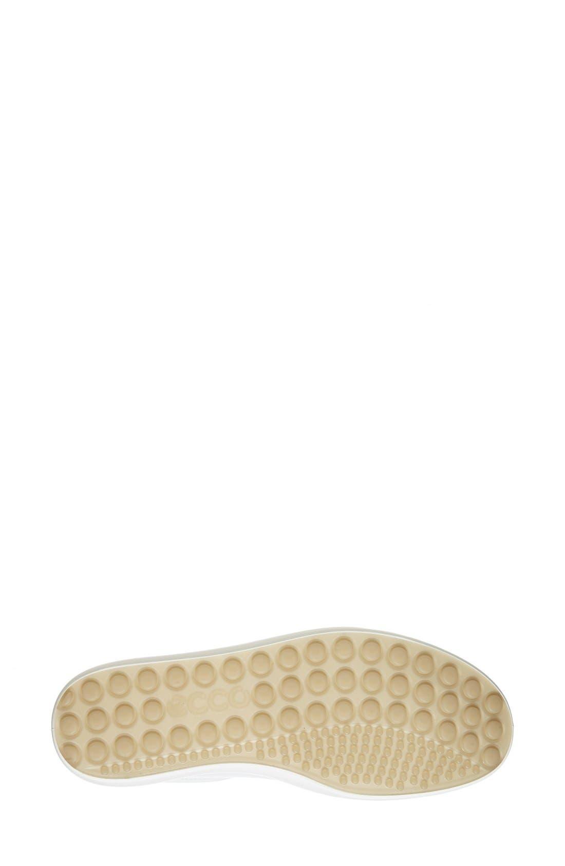 'Soft 7' High Top Sneaker,                             Alternate thumbnail 4, color,                             WHITE