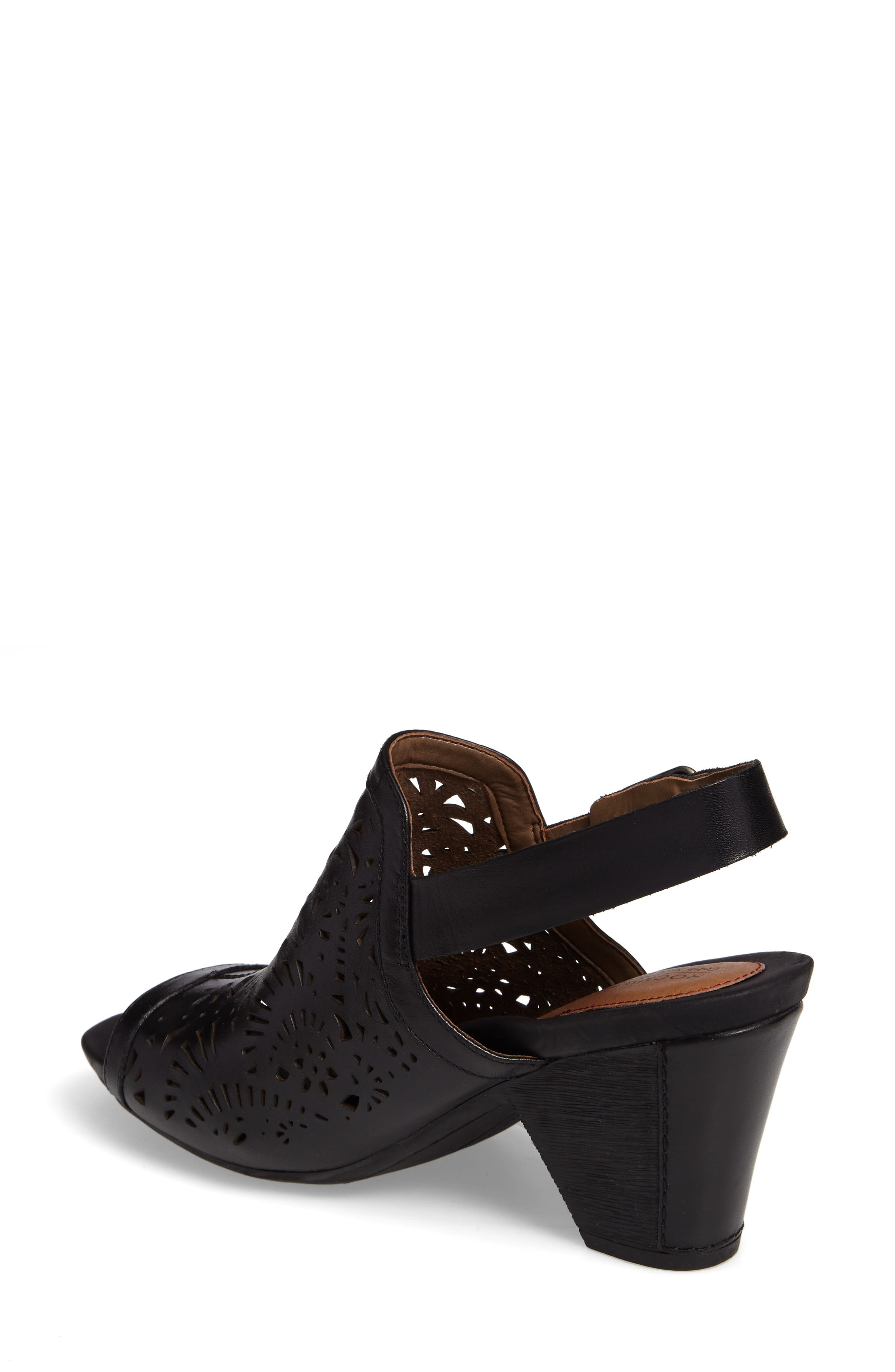 Tropez Block Heel Sandal,                             Alternate thumbnail 5, color,