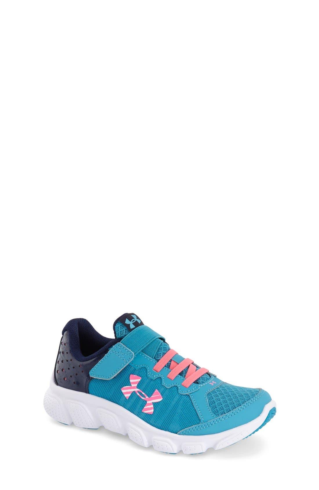 Micro G<sup>®</sup> Assert VI Running Shoe,                             Main thumbnail 1, color,                             400