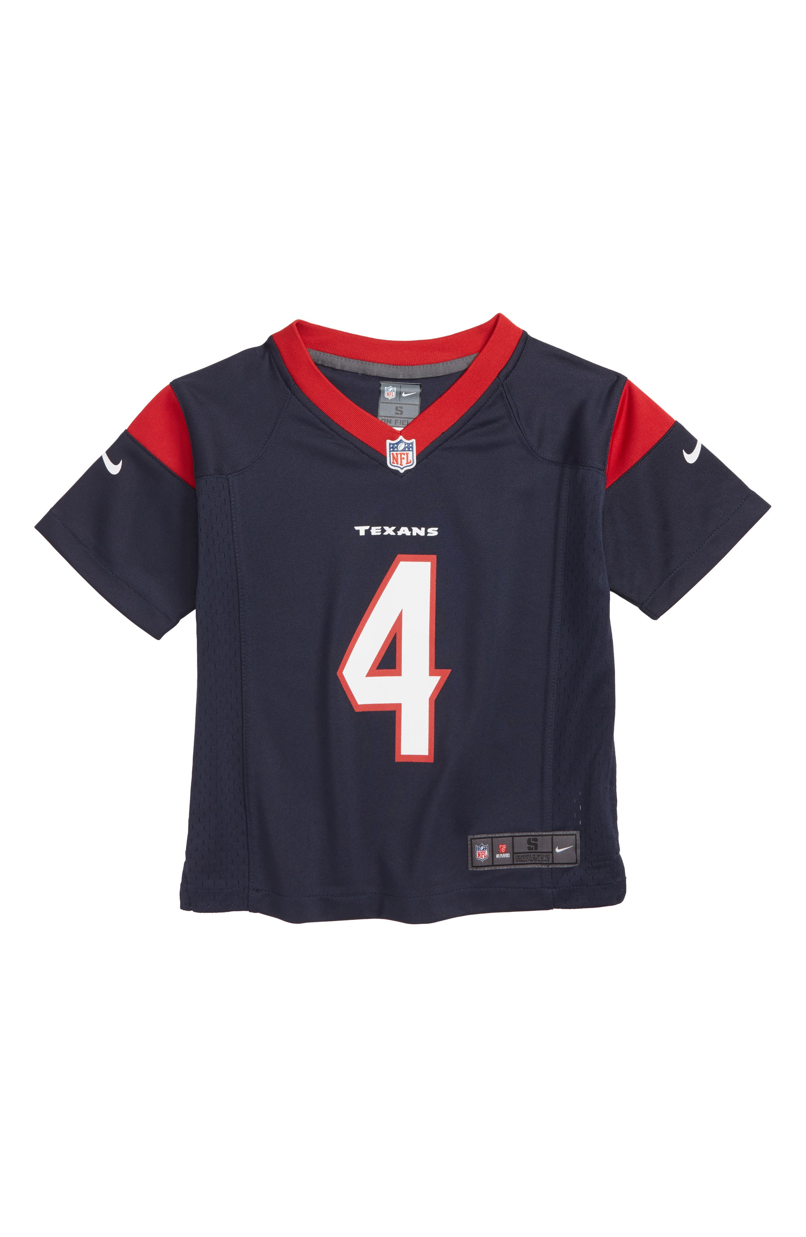 NFL Houston Texans Deshaun Watson Jersey,                         Main,                         color, NAVY