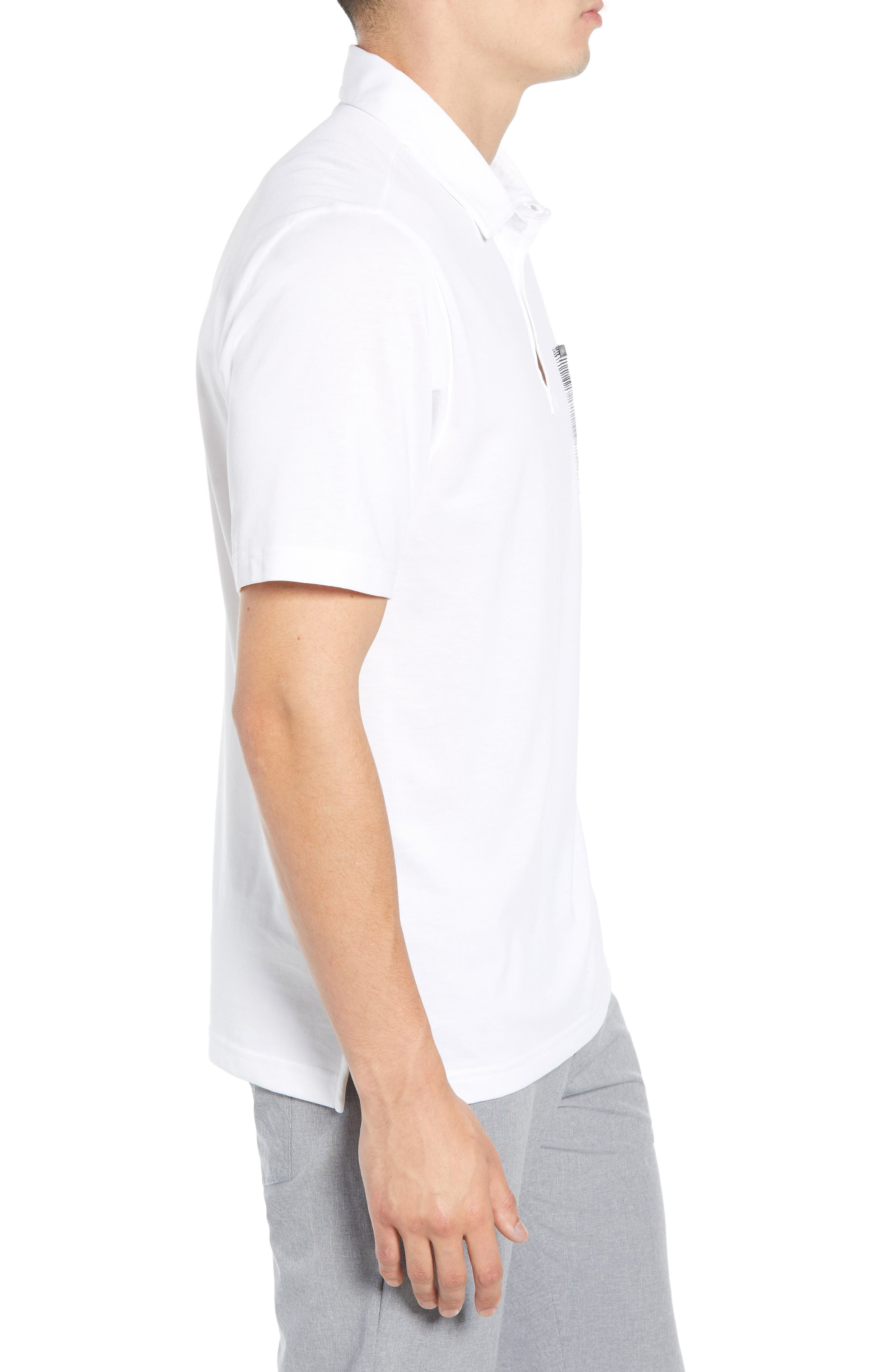 That's a You Problem Regular Fit Polo Shirt,                             Alternate thumbnail 3, color,                             100