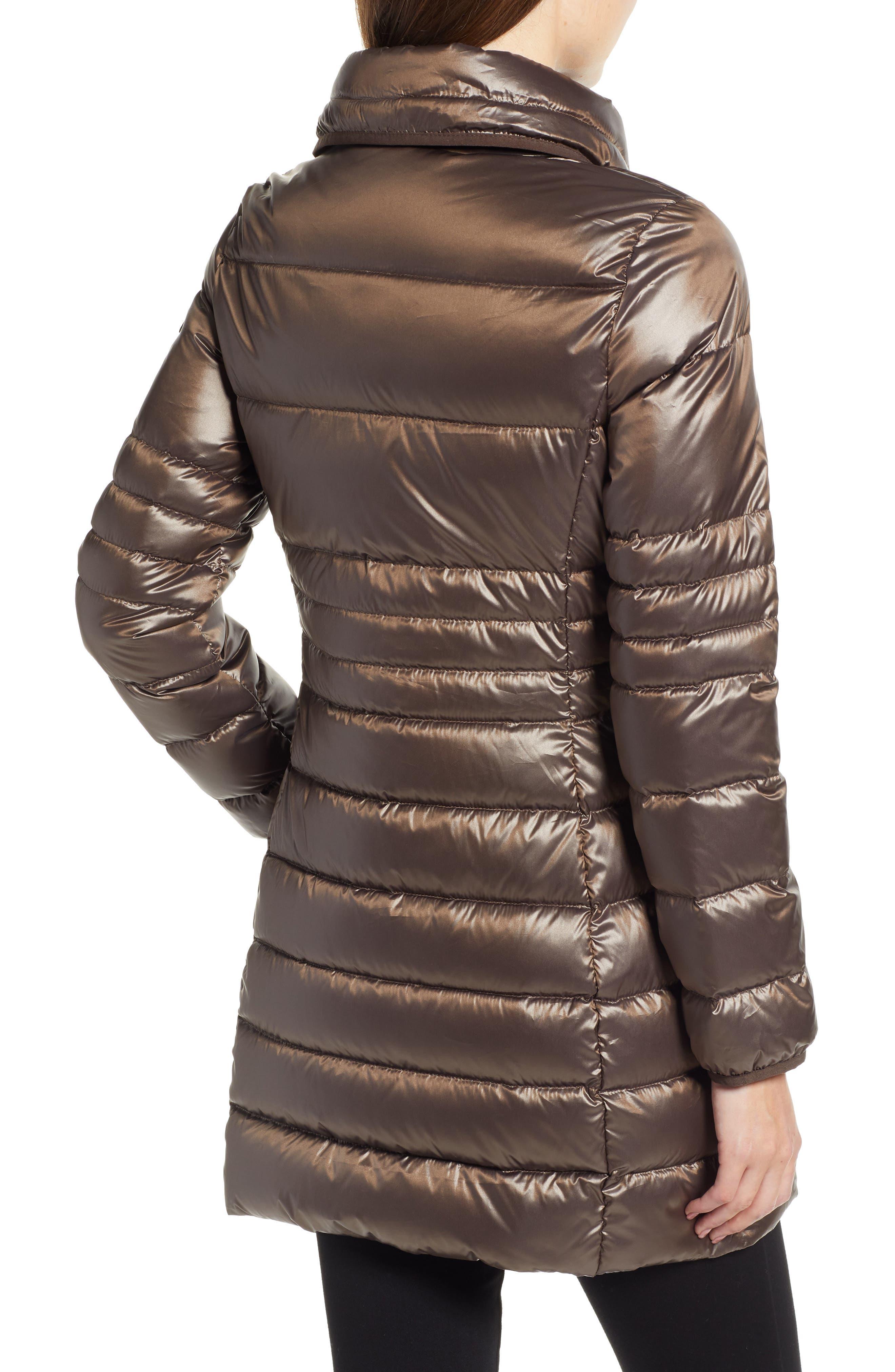 Asymmetrical Puffer Jacket,                             Alternate thumbnail 2, color,                             MINK