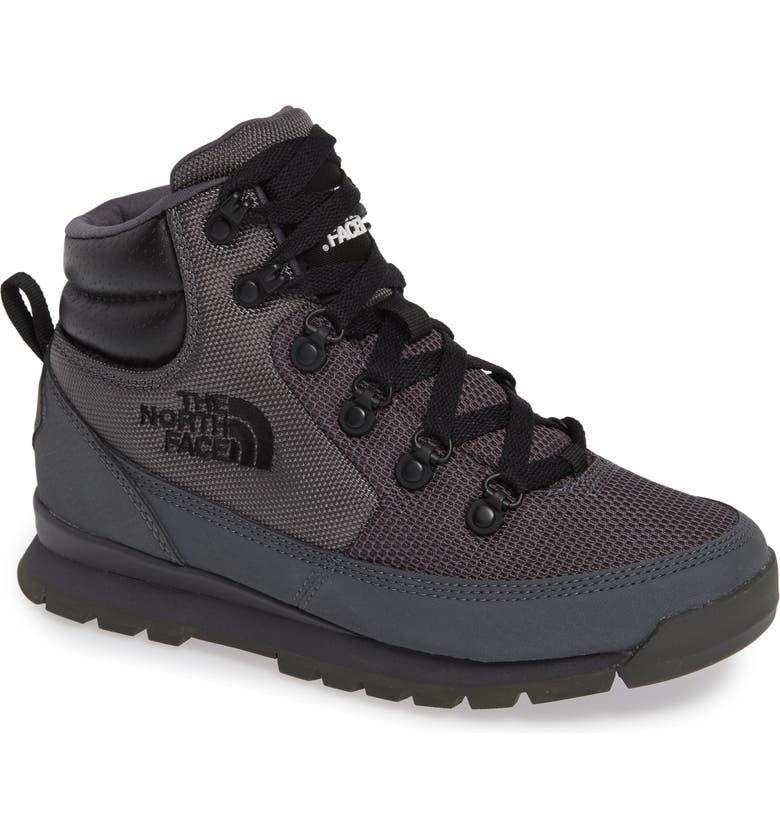 The North Face Back To Berkeley Redux Waterproof Boot In Blackened Pearl   Black ee9afa6fbd564