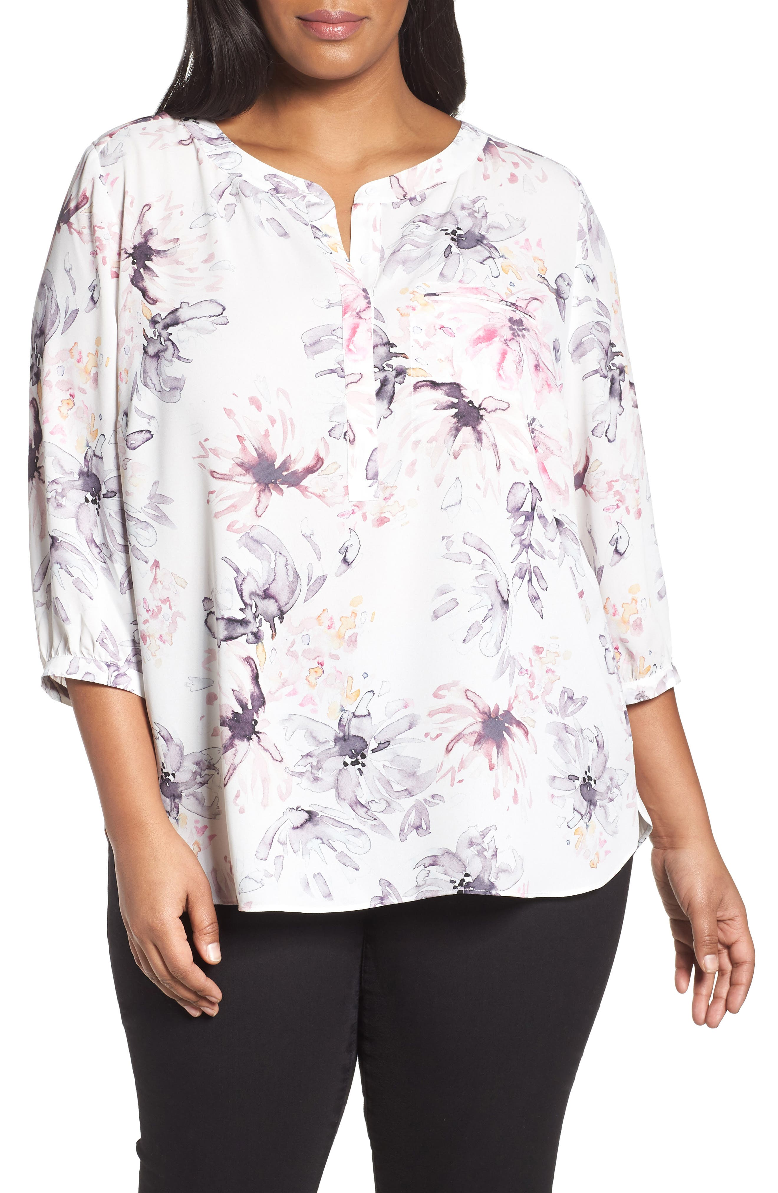Henley Top,                             Alternate thumbnail 118, color,