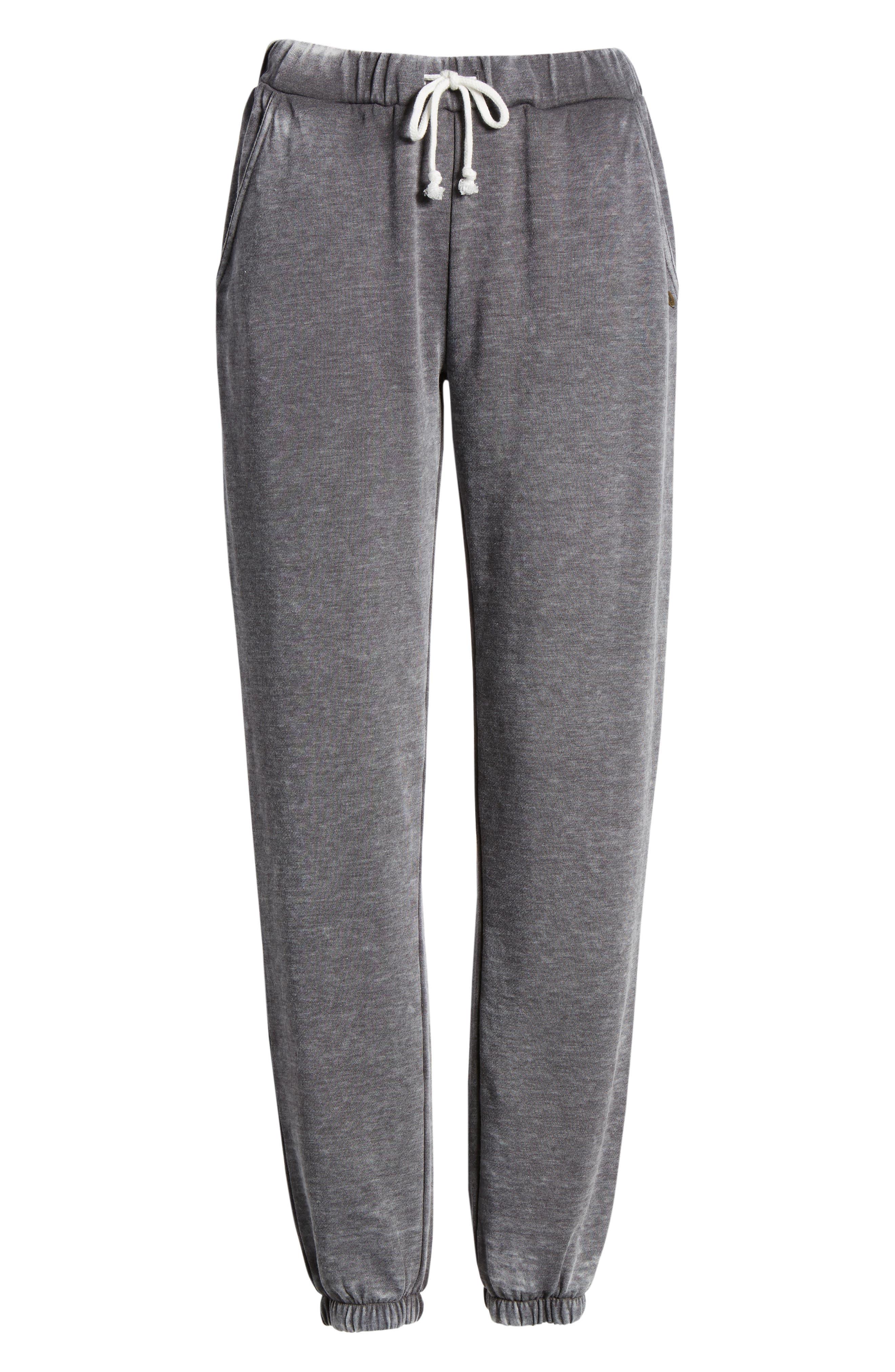 Riya Fashion Fleece Sweatpants,                             Alternate thumbnail 7, color,                             020
