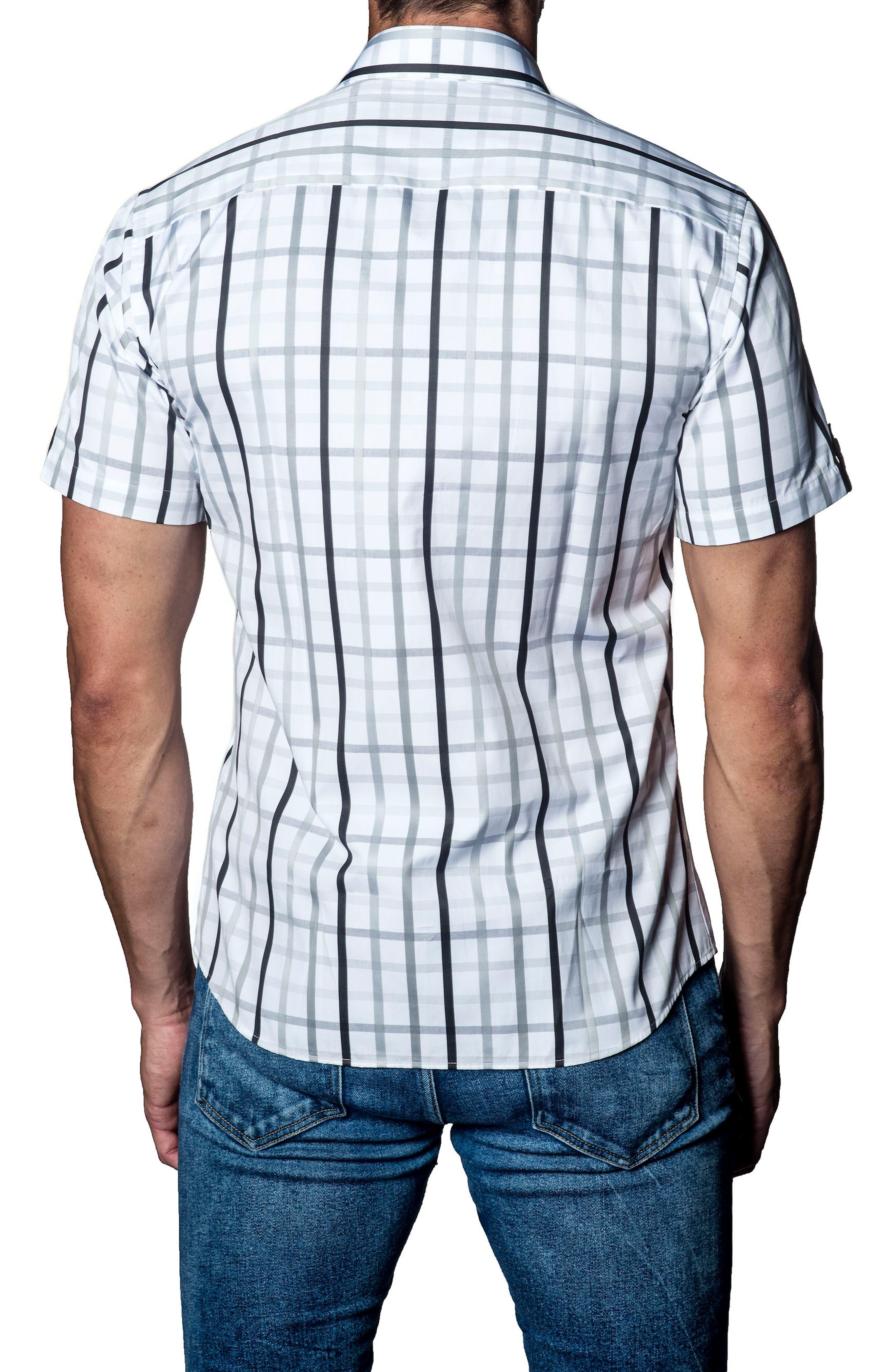 Plaid Sport Shirt,                             Alternate thumbnail 2, color,                             160