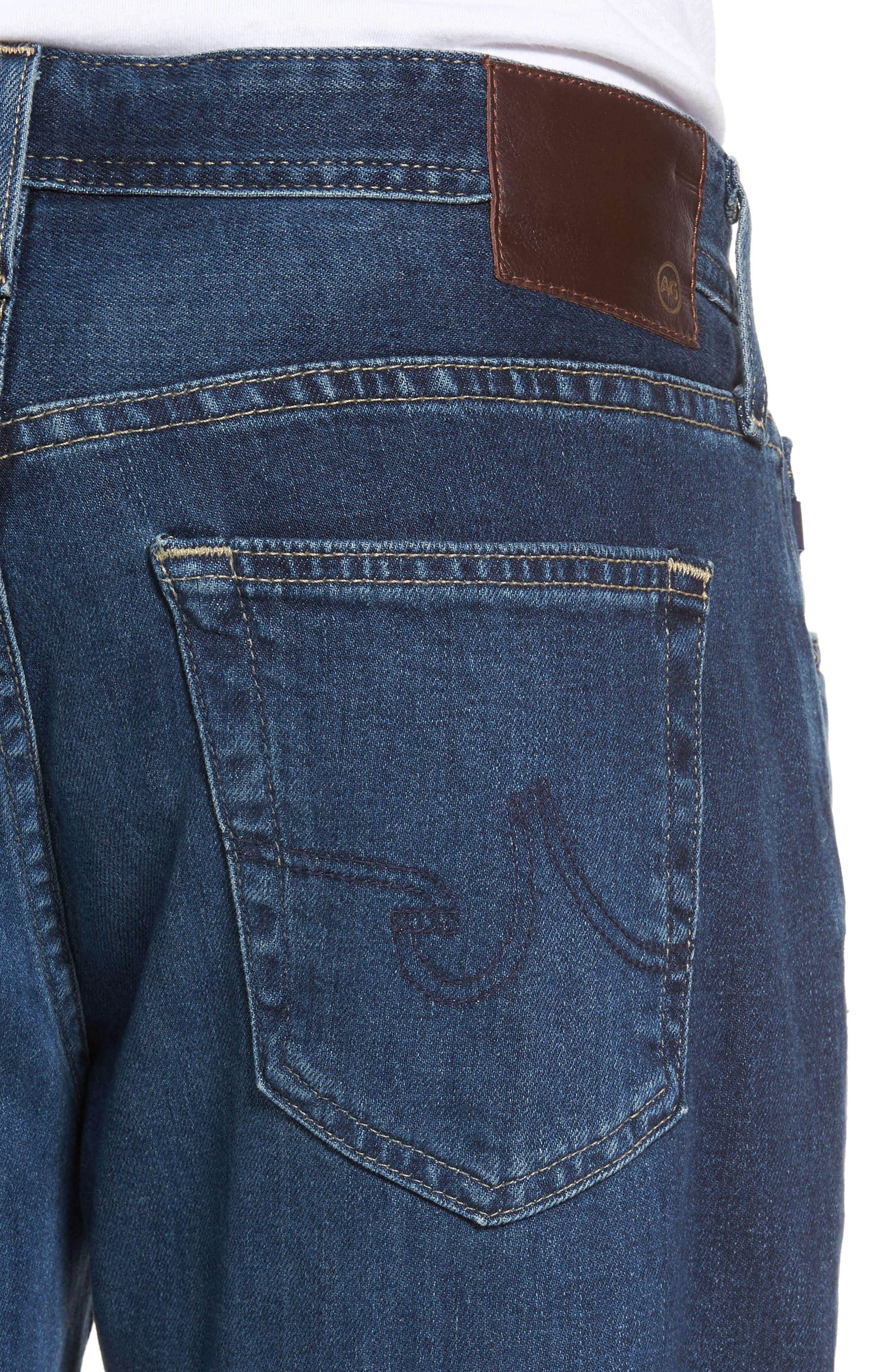 Graduate Slim Straight Leg Jeans,                             Alternate thumbnail 7, color,