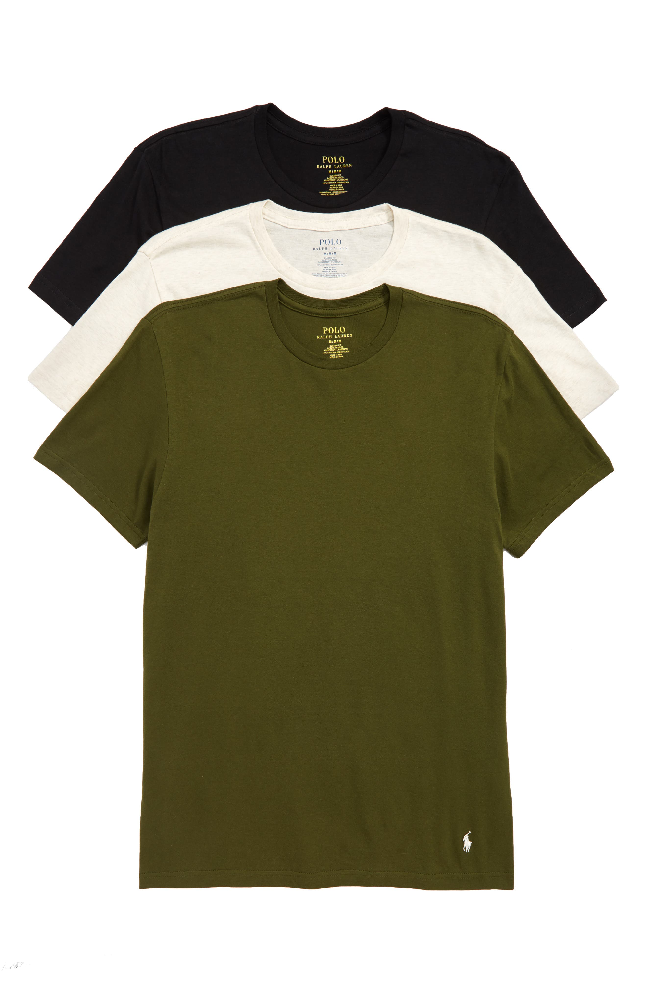 3-Pack Classic Fit T-Shirts,                             Main thumbnail 1, color,                             300