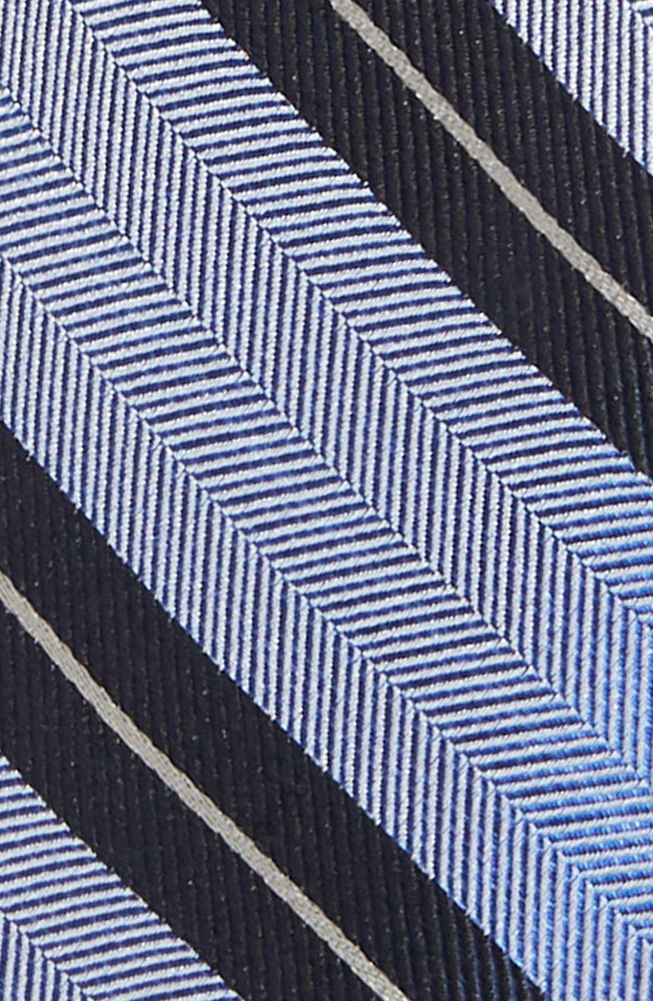 Stripe Silk Tie,                             Alternate thumbnail 2, color,                             467