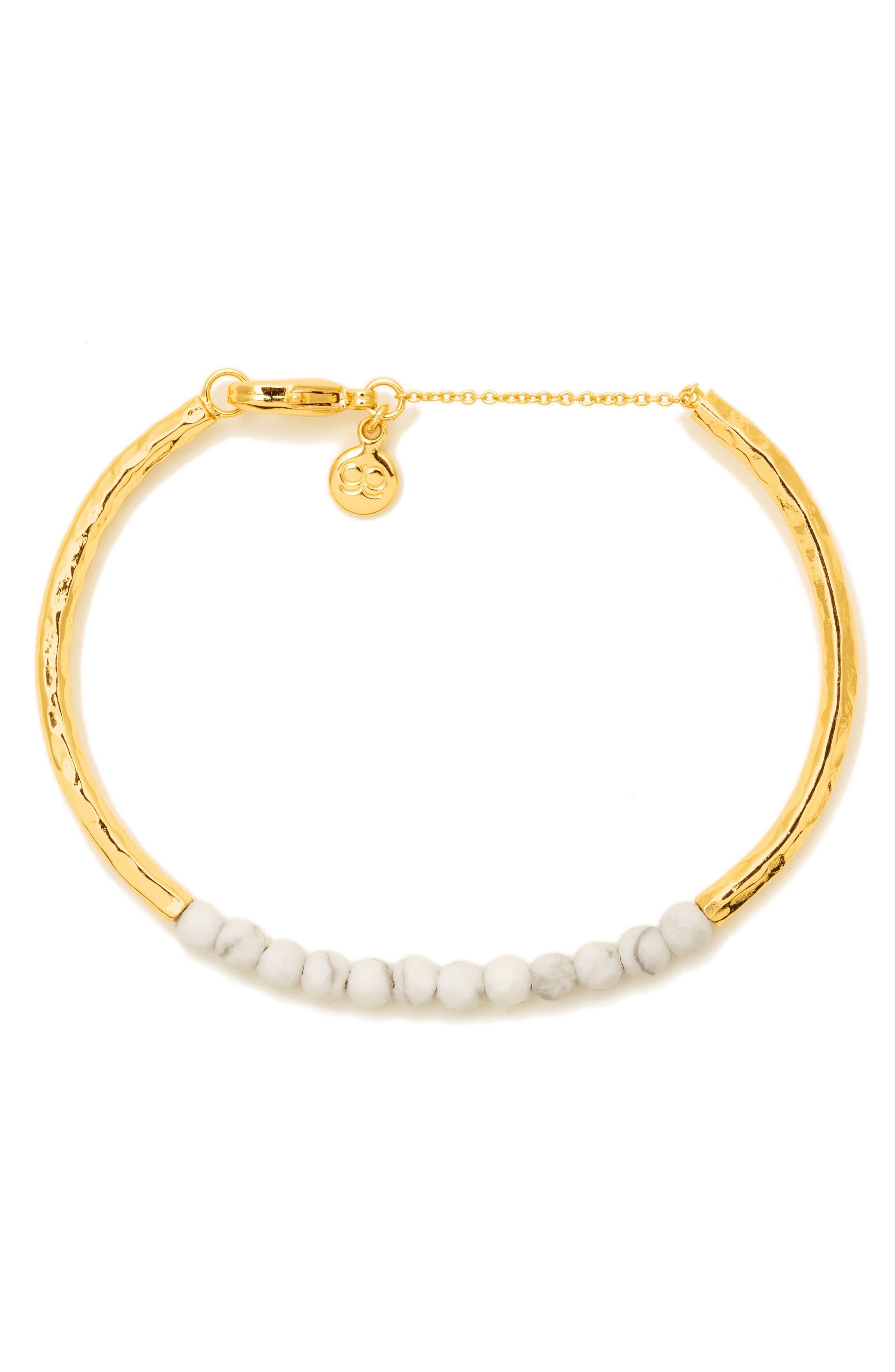 Power Stone Semiprecious Beaded Bracelet,                             Alternate thumbnail 11, color,