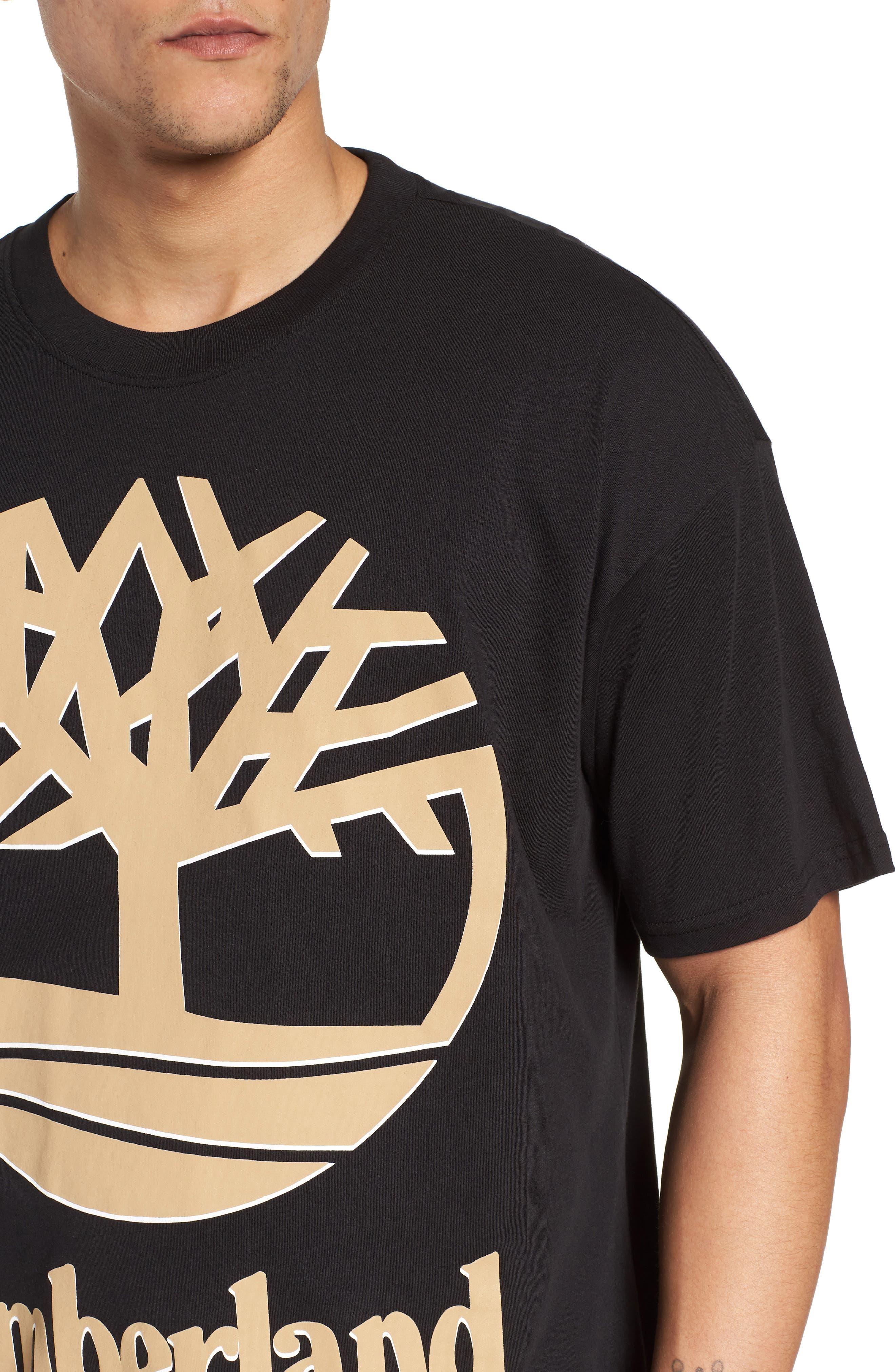 Logo T-Shirt,                             Alternate thumbnail 4, color,                             001