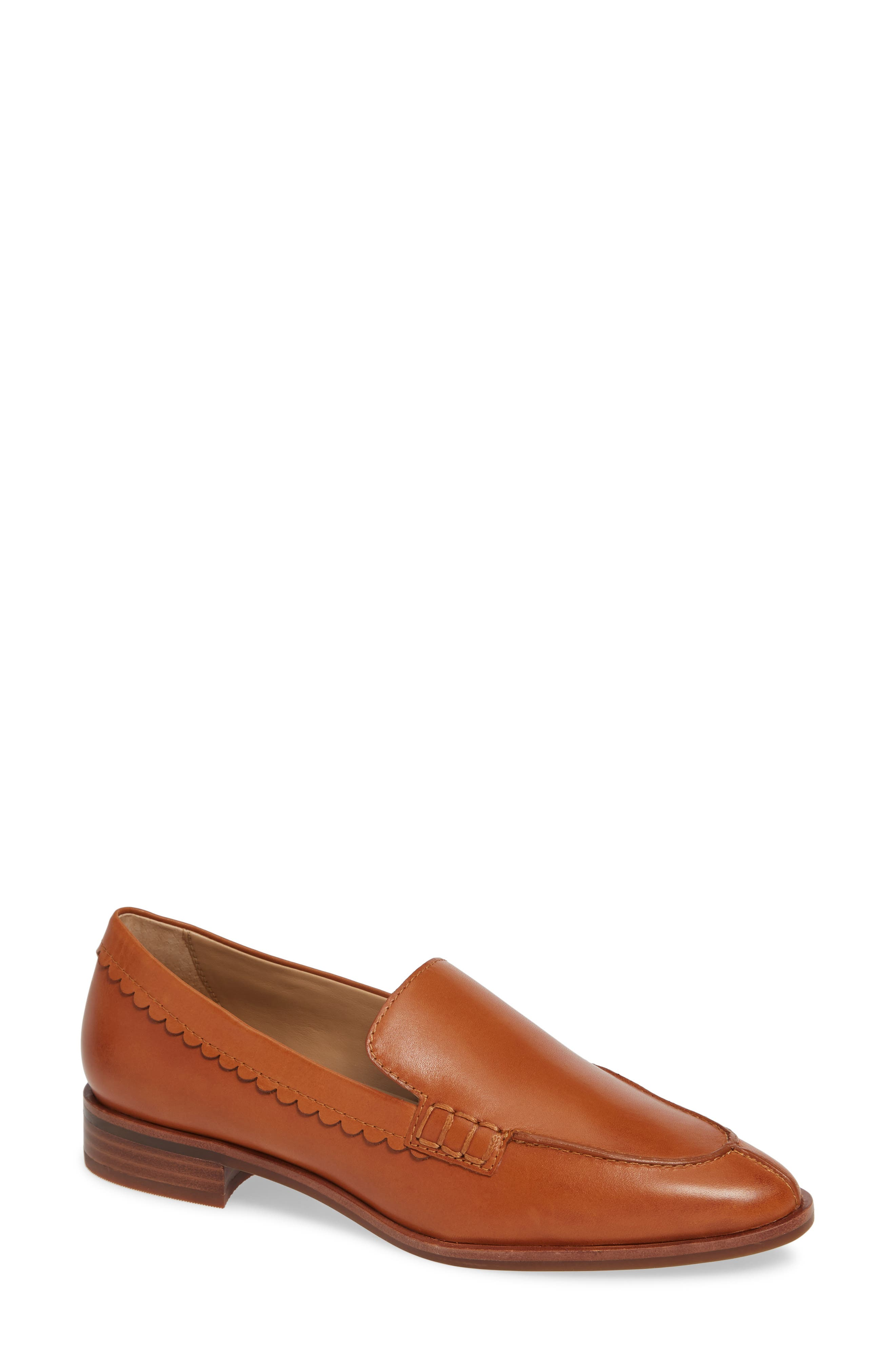 Bowery Loafer,                             Main thumbnail 1, color,                             COCONUT VACHETTA LEATHER