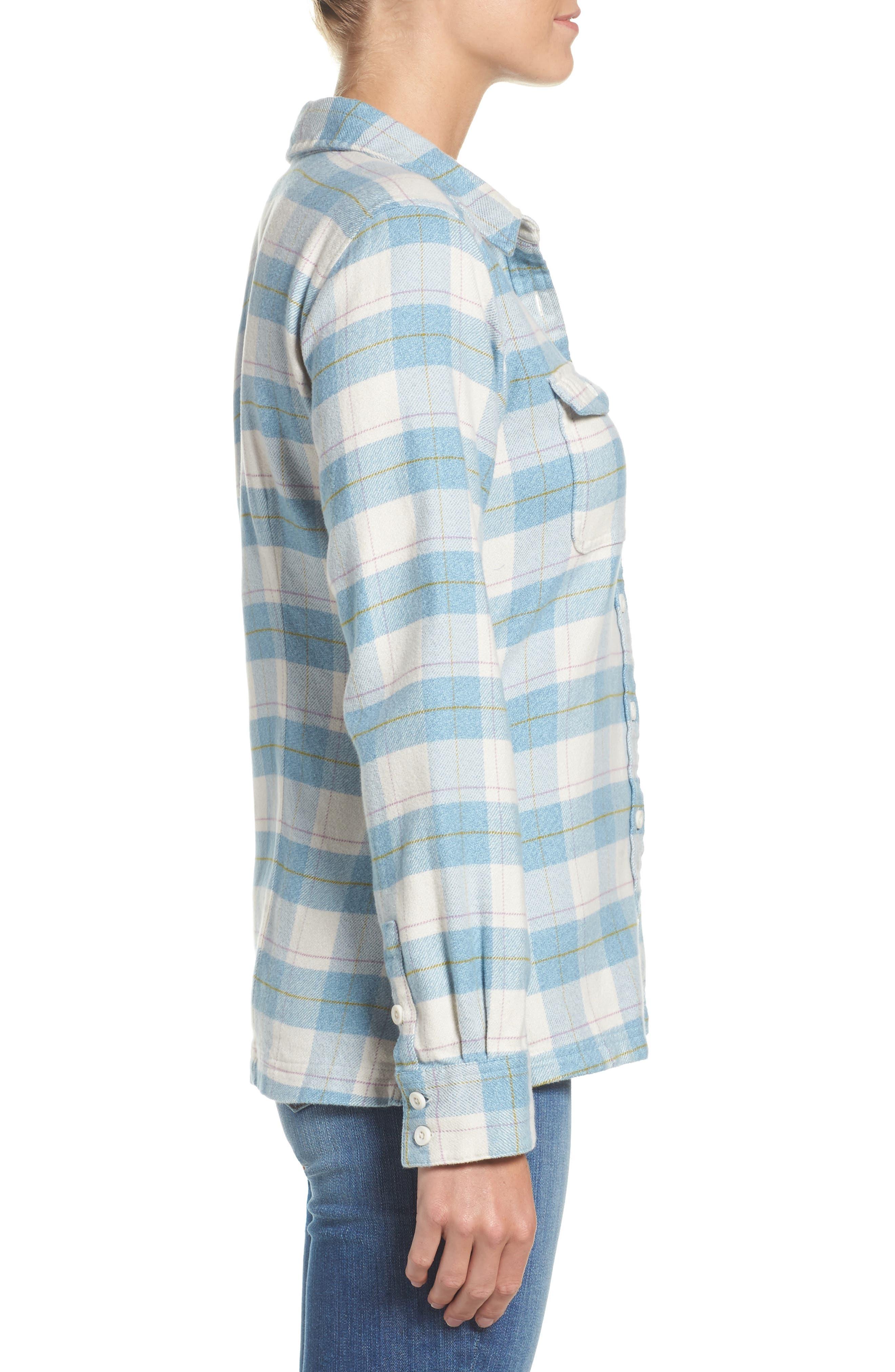 'Fjord' Flannel Shirt,                             Alternate thumbnail 40, color,