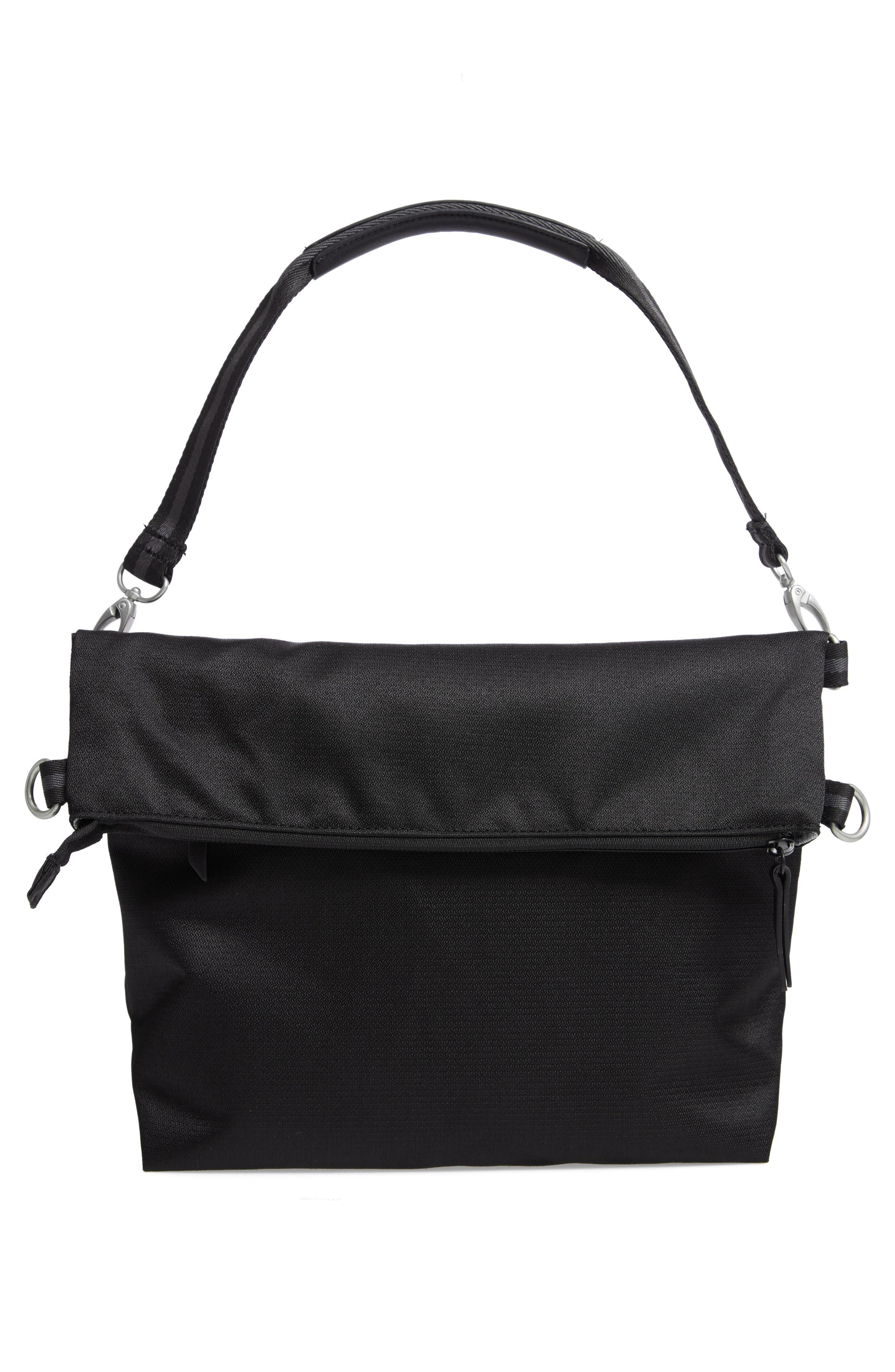 Vale RFID Crossbody Bag,                             Alternate thumbnail 3, color,                             BLACK/ BLACK