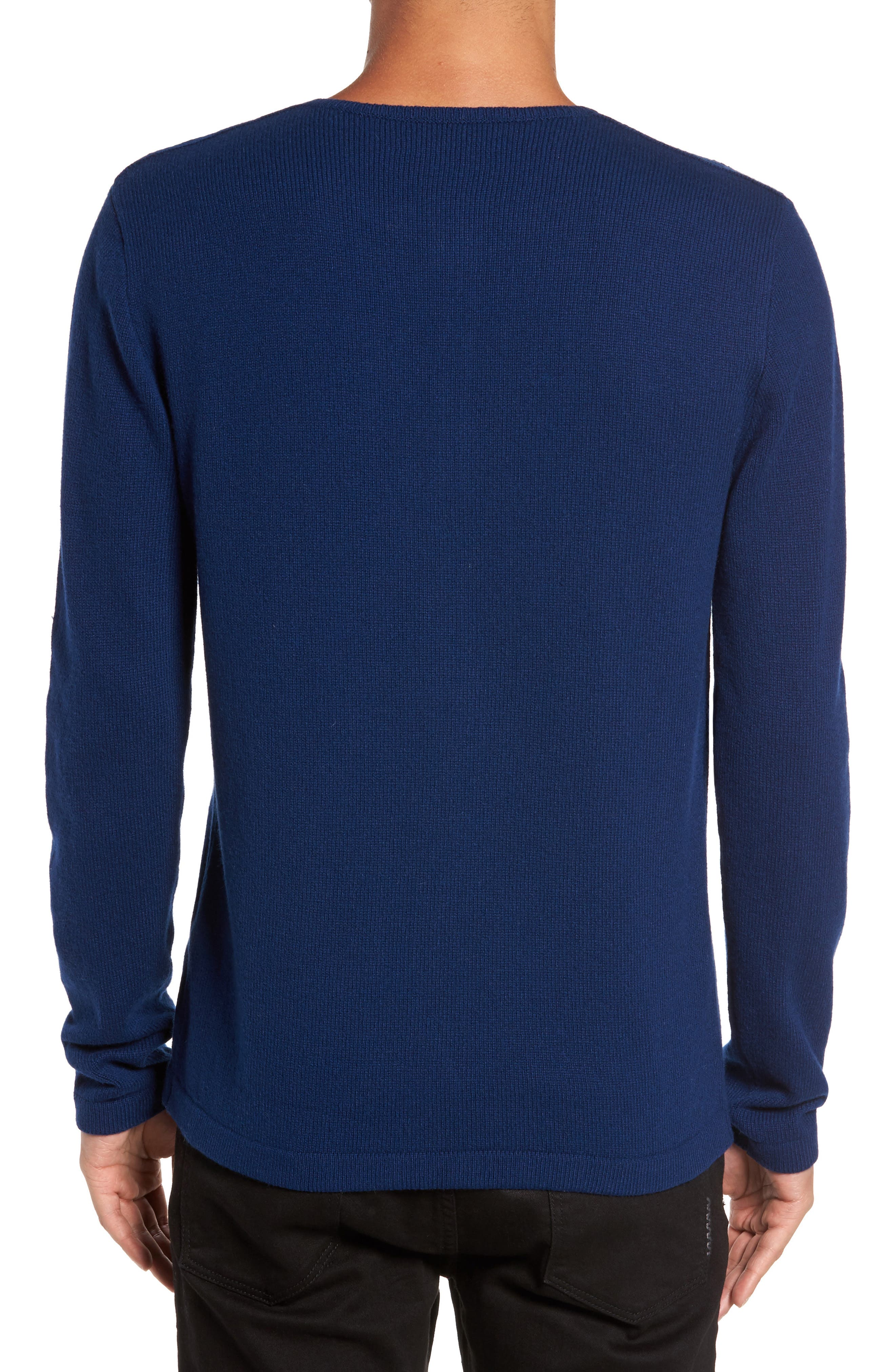 Henley Sweater,                             Alternate thumbnail 4, color,