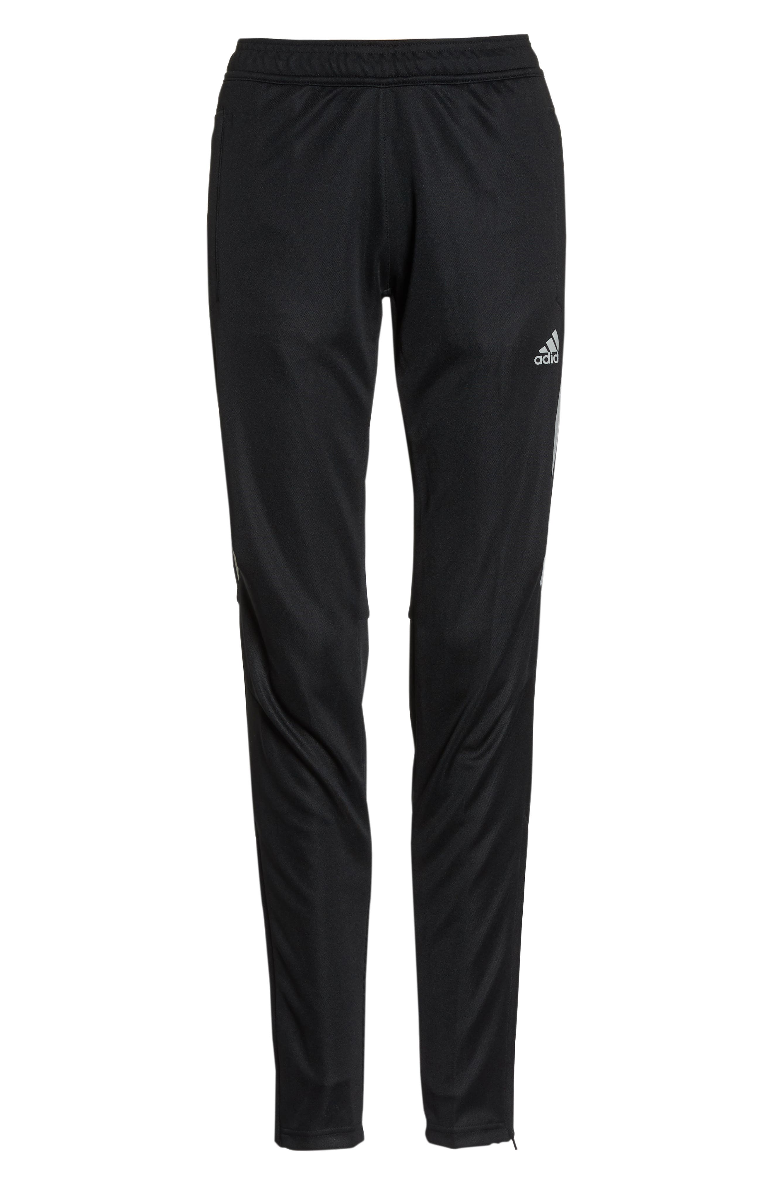 Tiro 17 Training Pants,                             Alternate thumbnail 7, color,                             BLACK/ REFLECTIVE SILVER