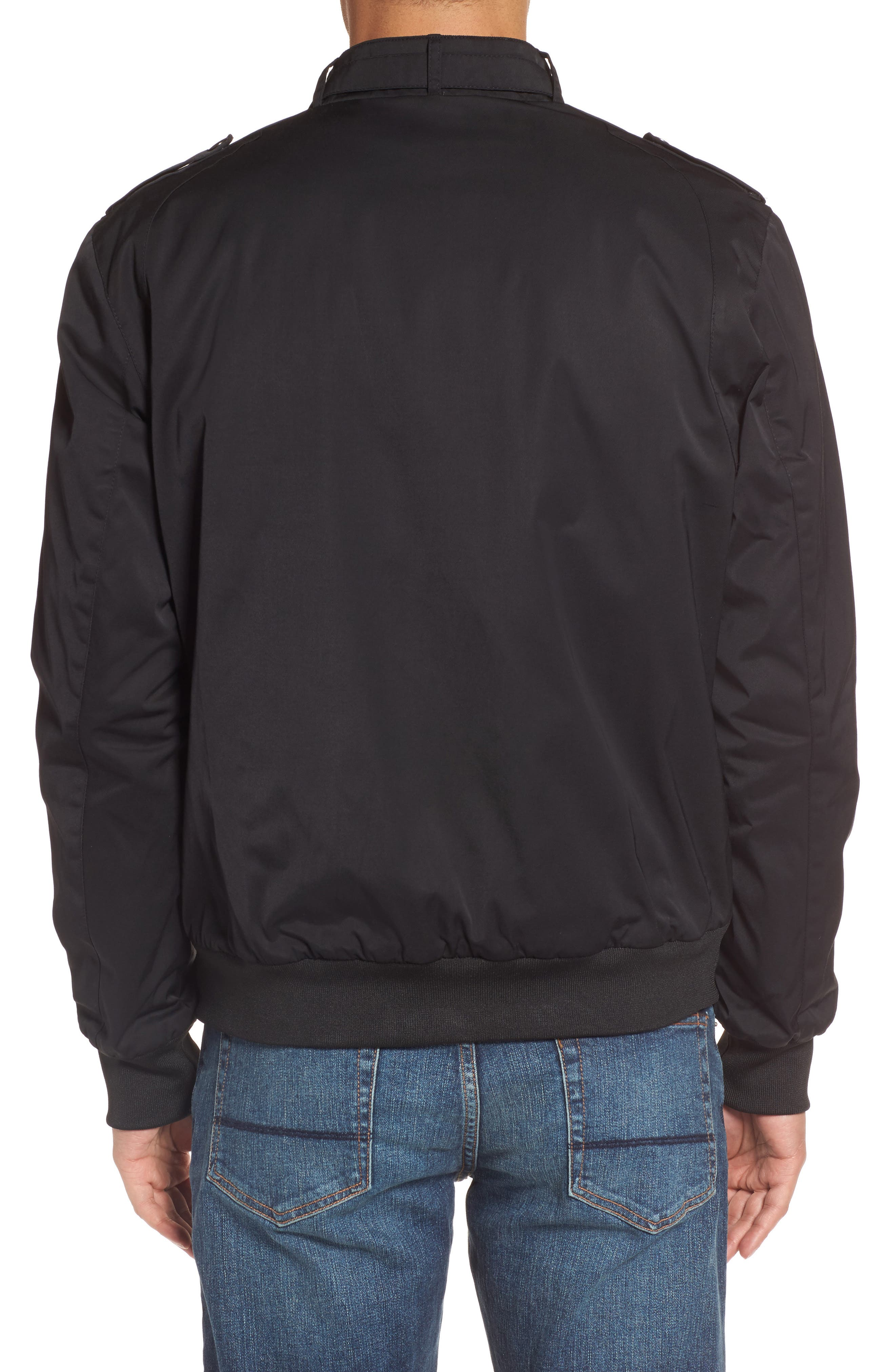 Twill Iconic Jacket,                             Alternate thumbnail 2, color,                             001