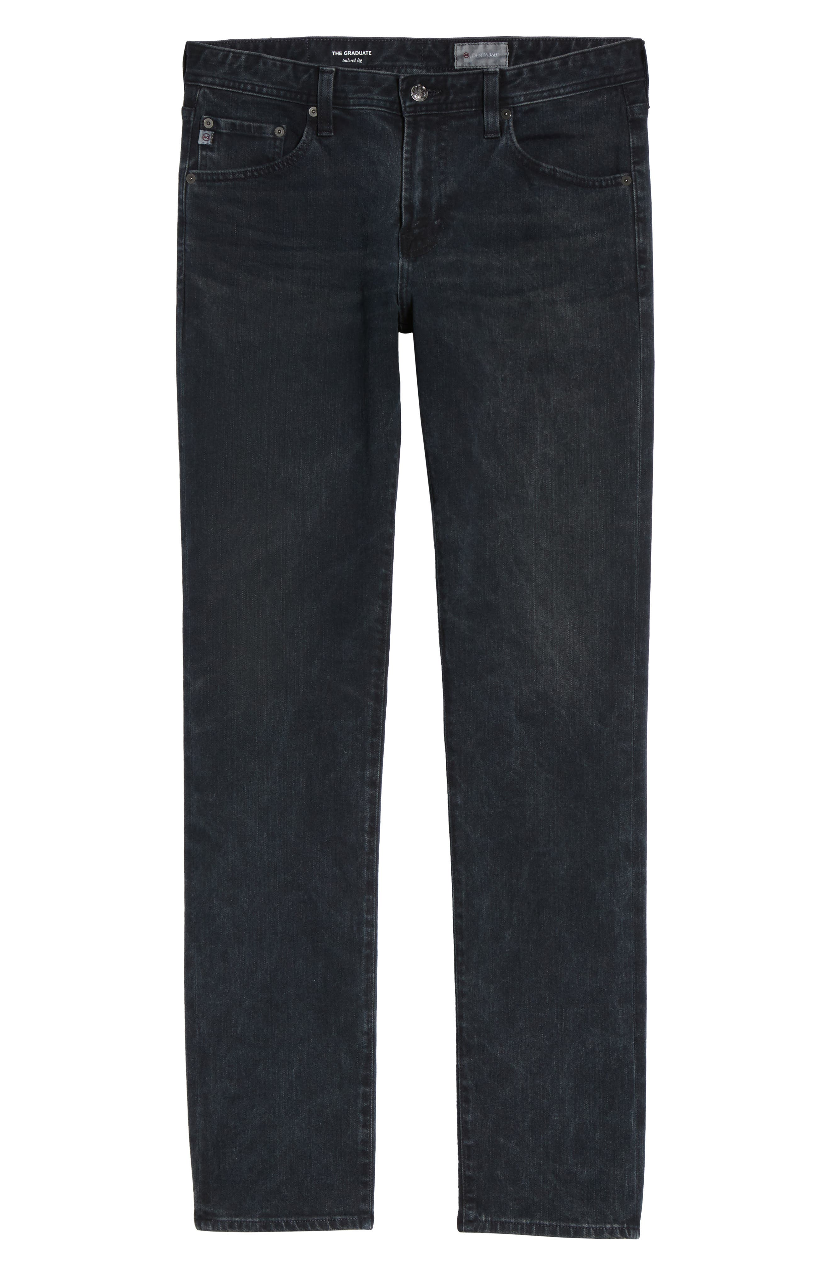 Graduate Slim Straight Leg Jeans,                             Alternate thumbnail 6, color,                             419