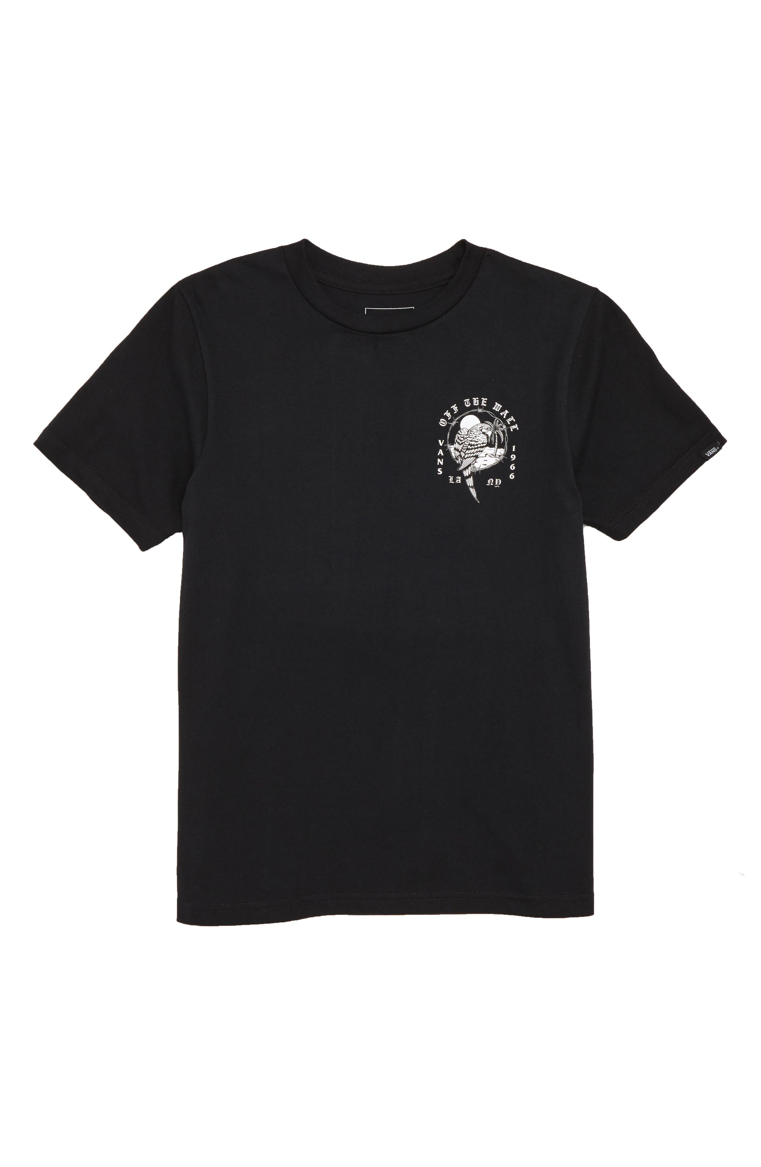 Parrot Beach Graphic T-Shirt,                             Main thumbnail 1, color,                             001