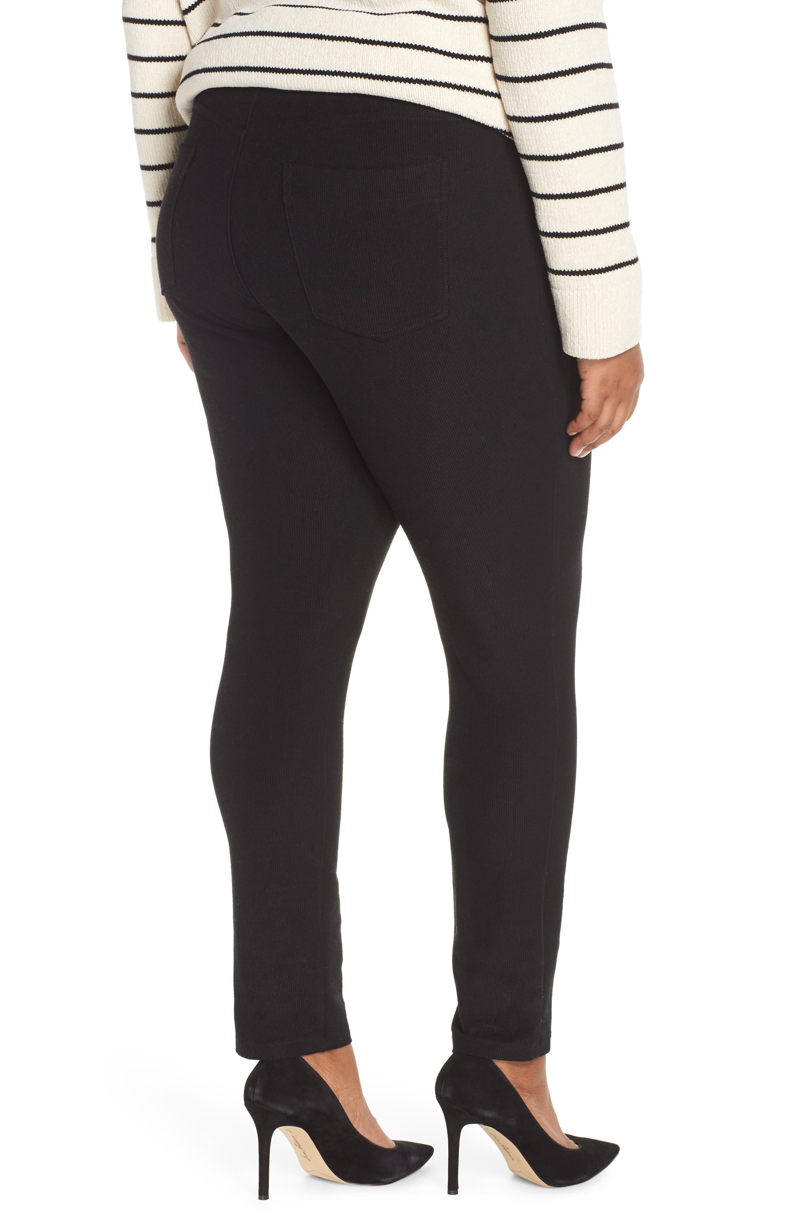 5-Pocket Skinny Pants,                             Alternate thumbnail 3, color,                             BLACK