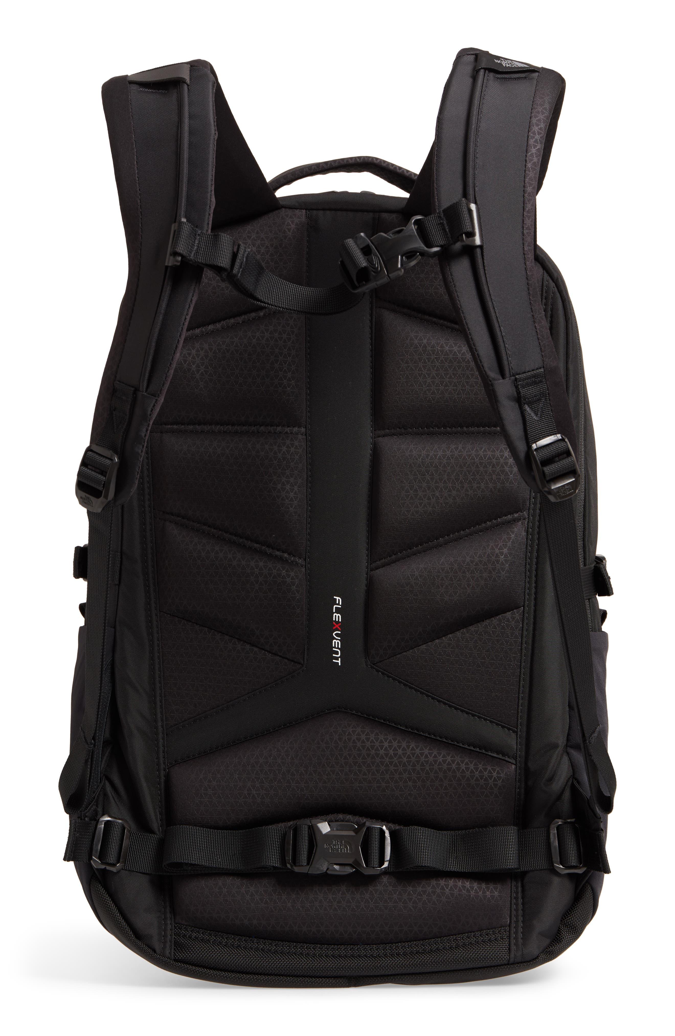 Surge Backpack,                             Alternate thumbnail 3, color,                             TNF BLACK