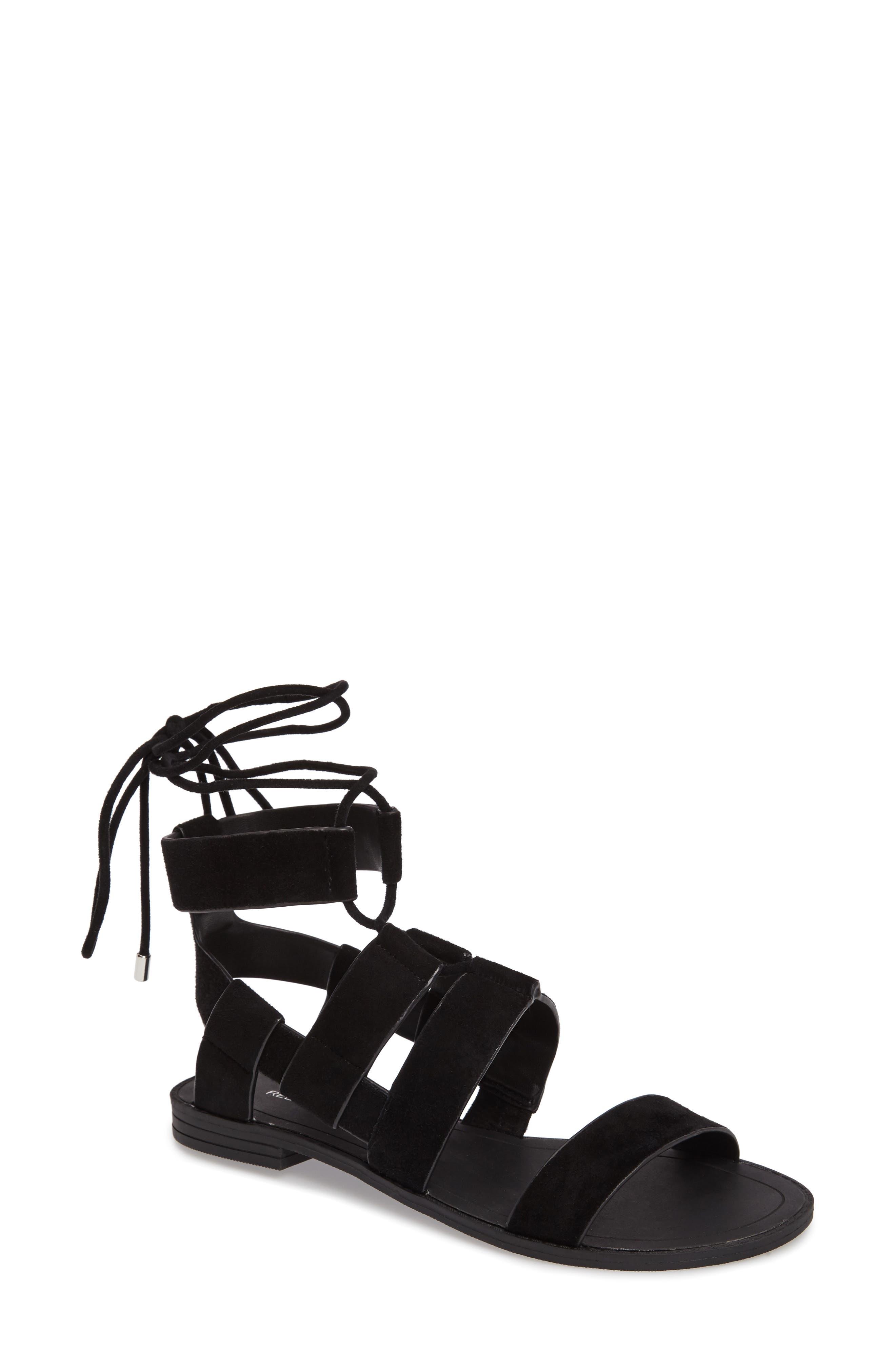 Giada Strappy Sandal,                             Main thumbnail 1, color,                             001